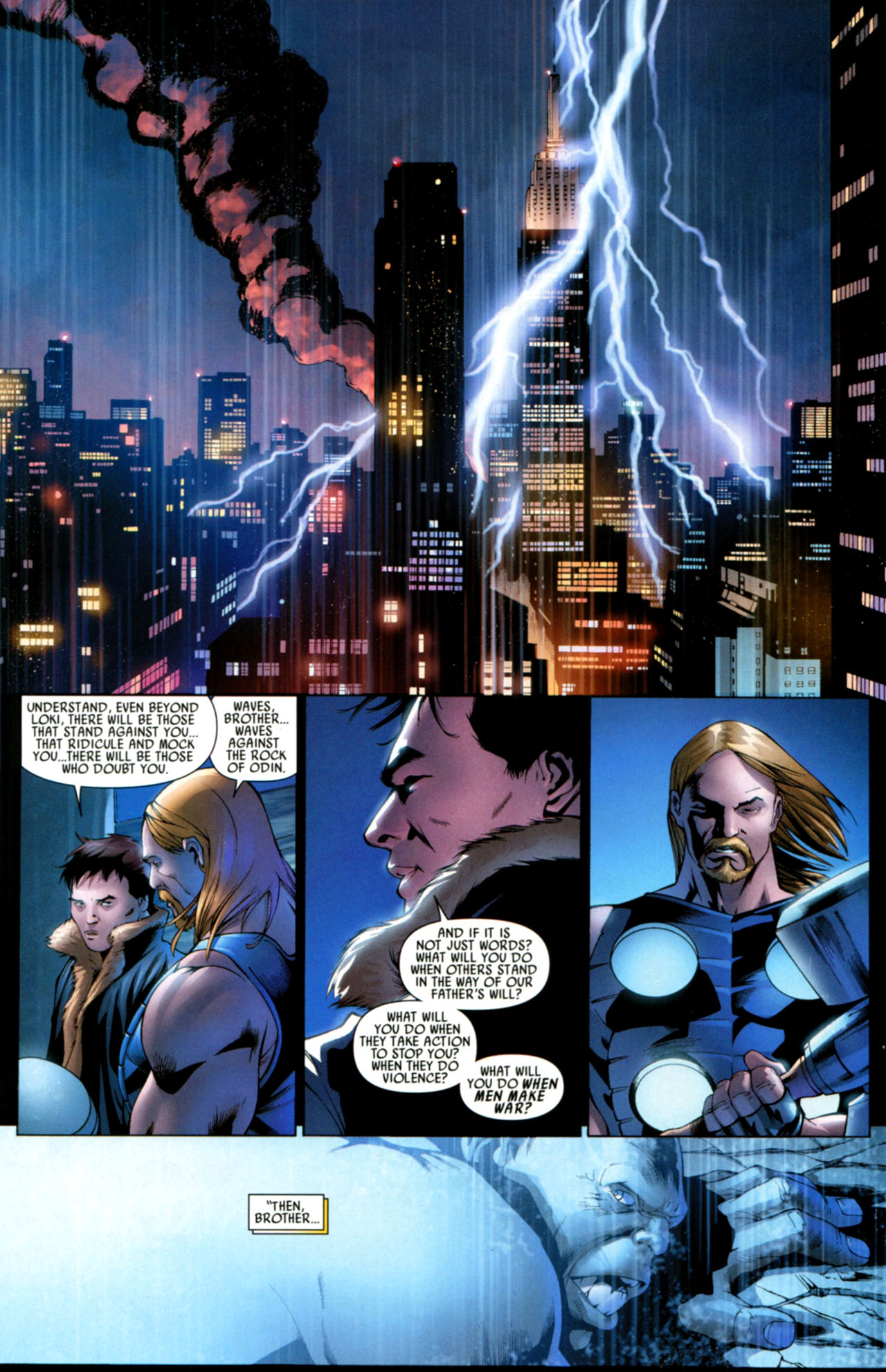 Read online Ultimate Thor comic -  Issue #4 - 25