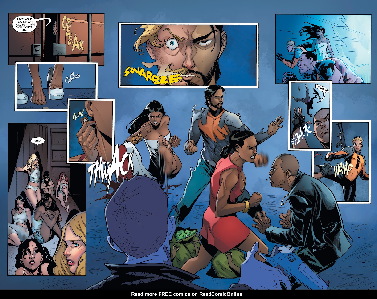 Read online Incidentals comic -  Issue #16 - 6