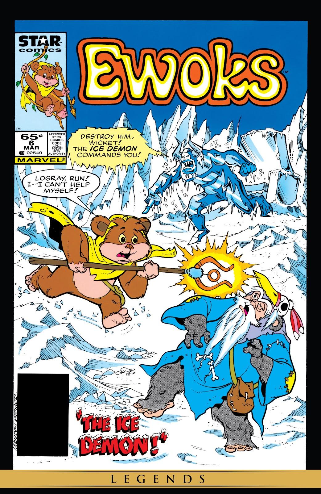Ewoks issue 6 - Page 1