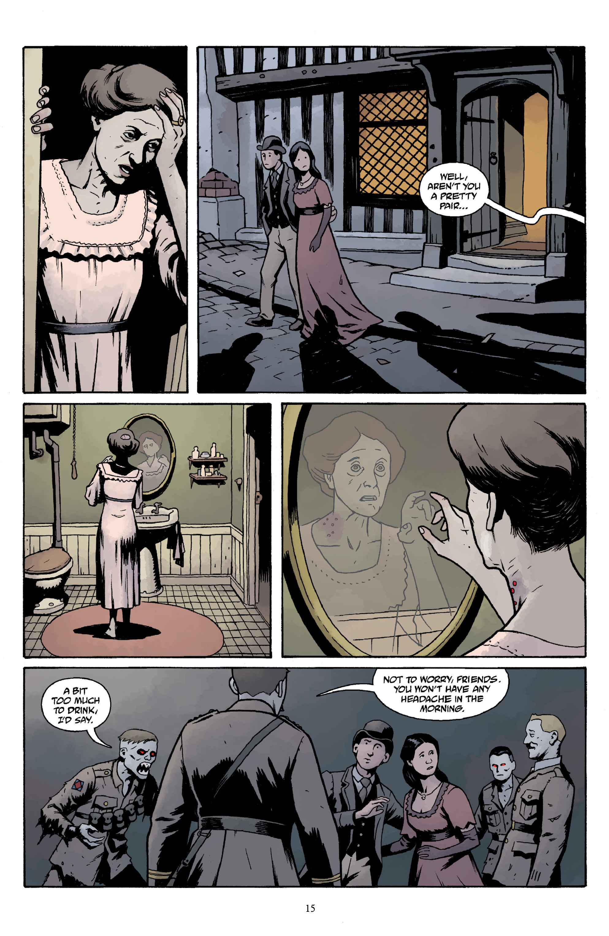 Read online Baltimore Volume 3: A Passing Stranger and Other Stories comic -  Issue # Full - 17