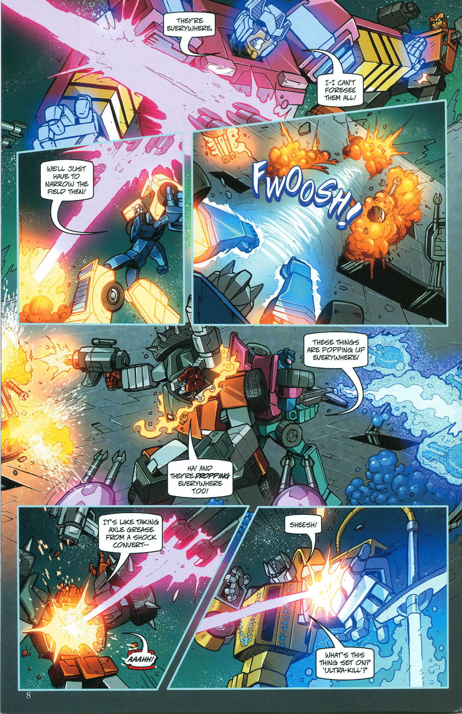 Read online Transformers: Collectors' Club comic -  Issue #46 - 8