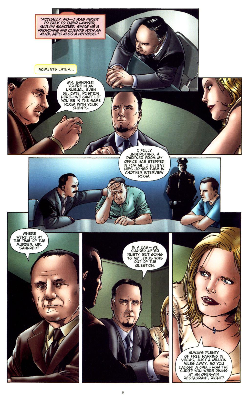 Read online CSI: Crime Scene Investigation: Bad Rap comic -  Issue #5 - 12