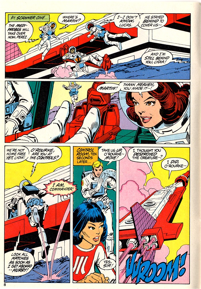 Read online Atari Force (1982) comic -  Issue #5 - 10