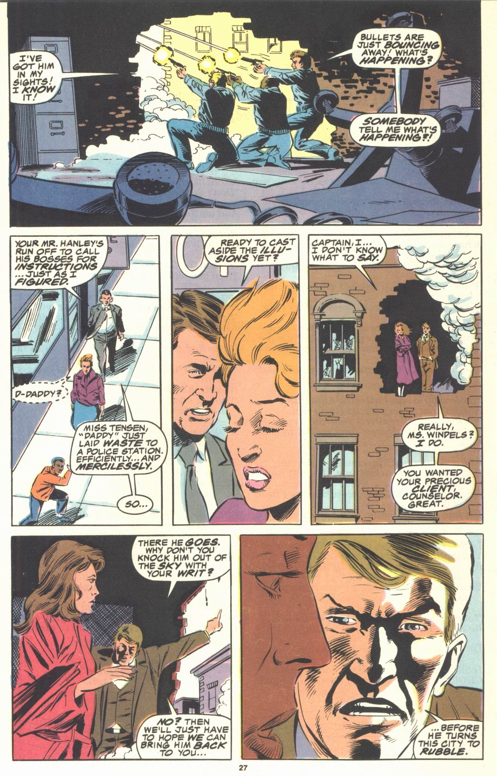Read online Justice (1986) comic -  Issue #21 - 29