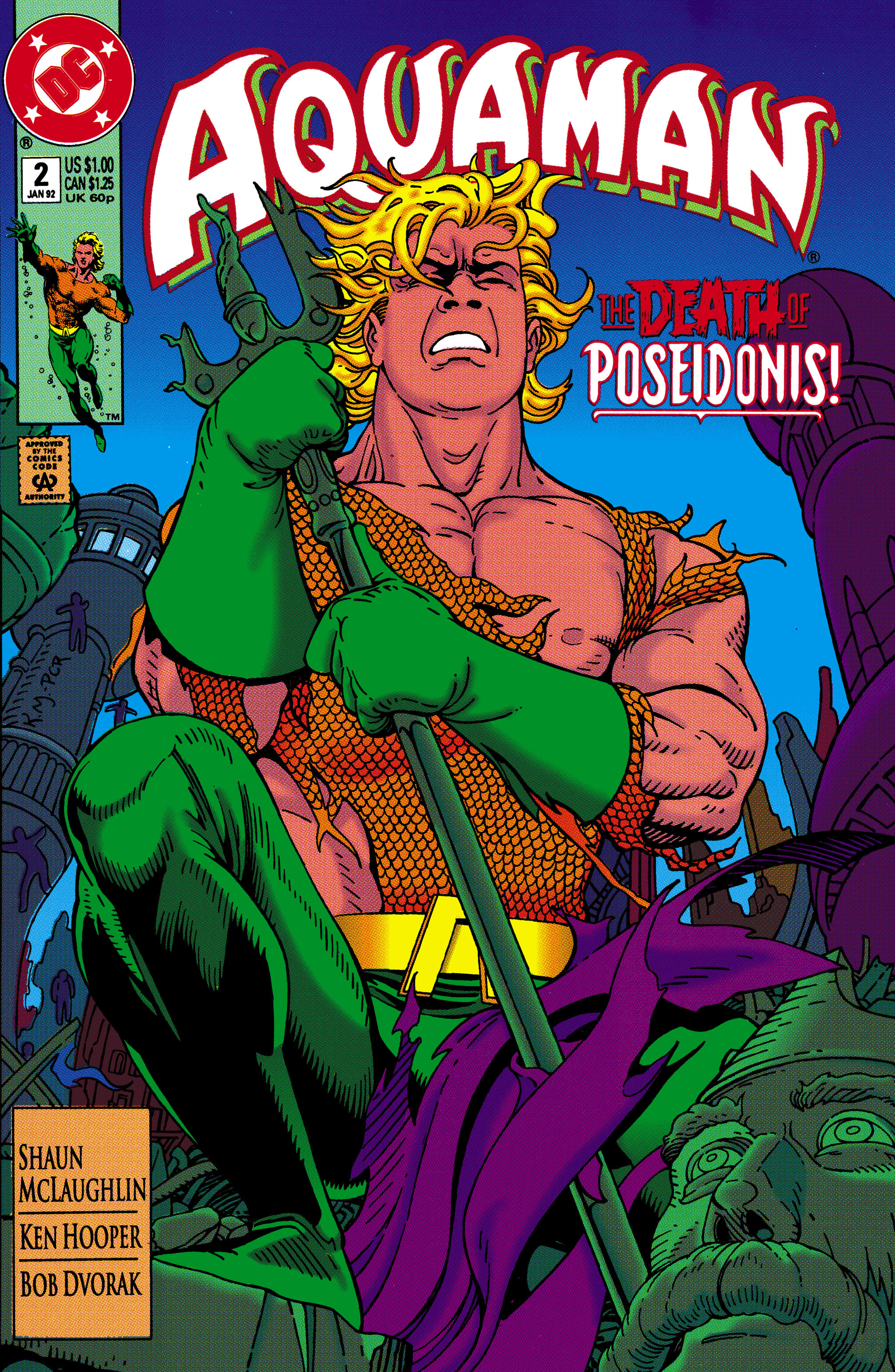 Read online Aquaman (1991) comic -  Issue #2 - 1
