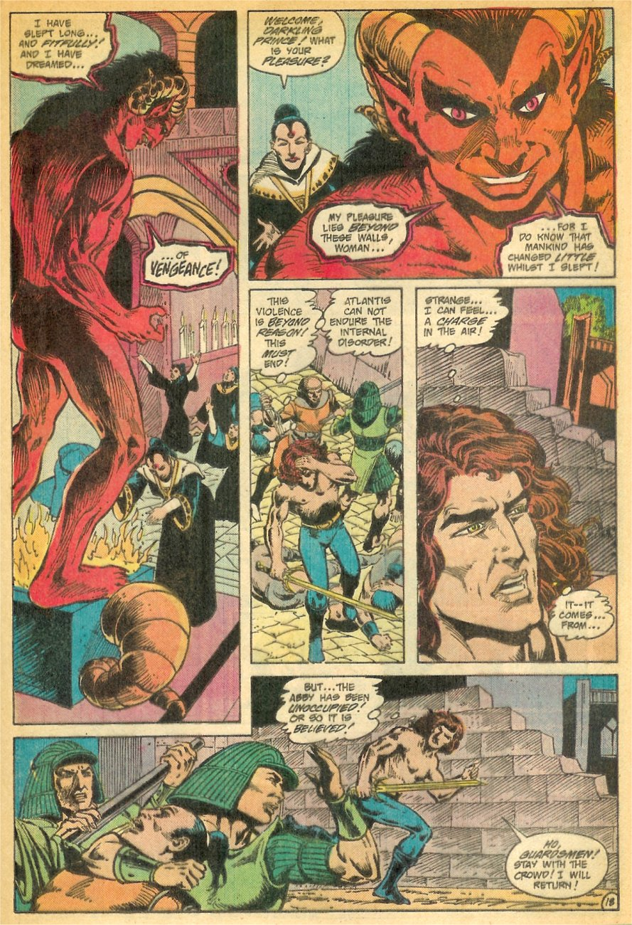 Read online Arion, Lord of Atlantis comic -  Issue #26 - 19