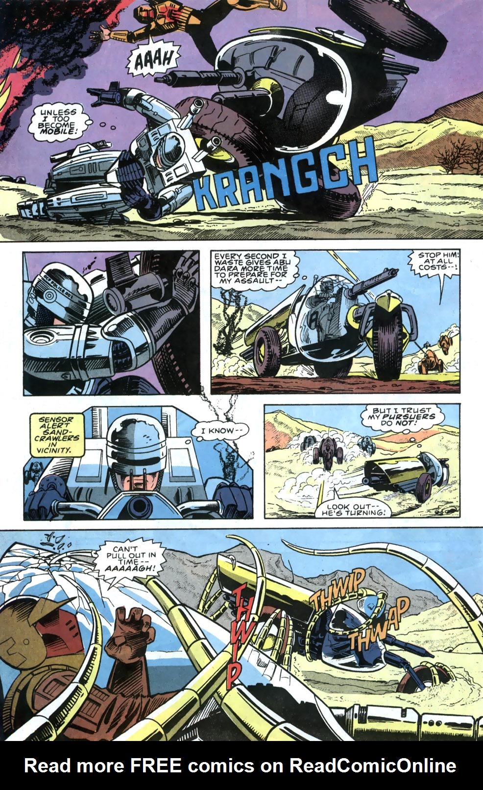 Read online Robocop (1990) comic -  Issue #5 - 21
