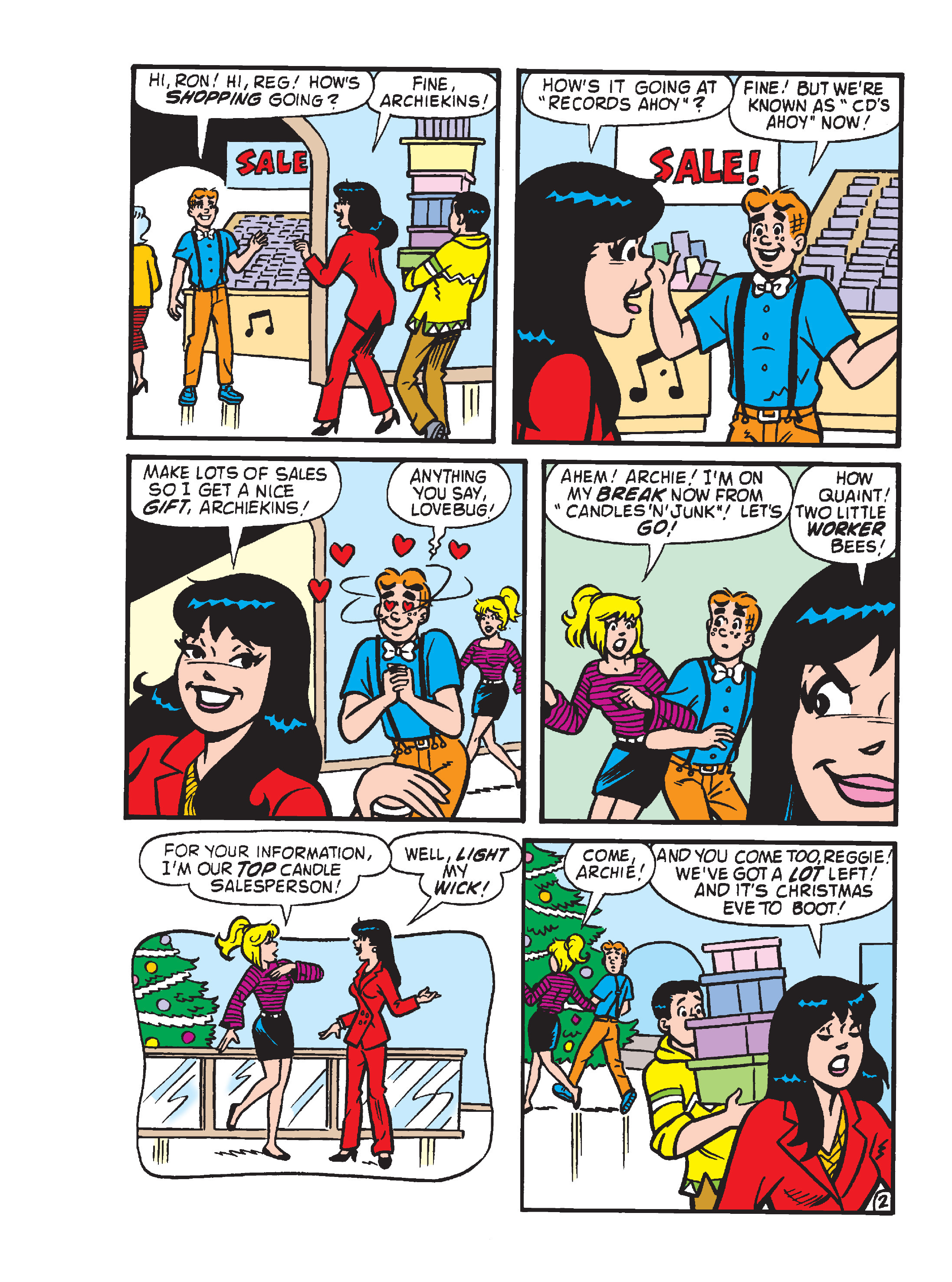 Read online Archie's Funhouse Double Digest comic -  Issue #23 - 172