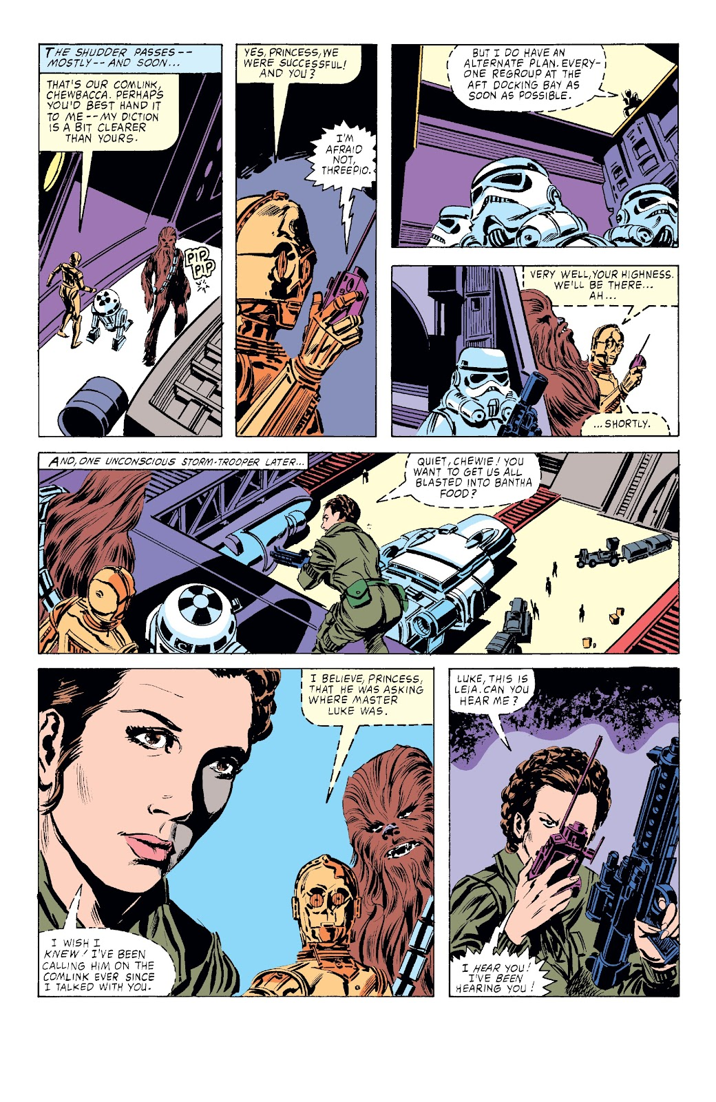 Read online Star Wars Legends: The Original Marvel Years - Epic Collection comic -  Issue # TPB 3 (Part 4) - 2