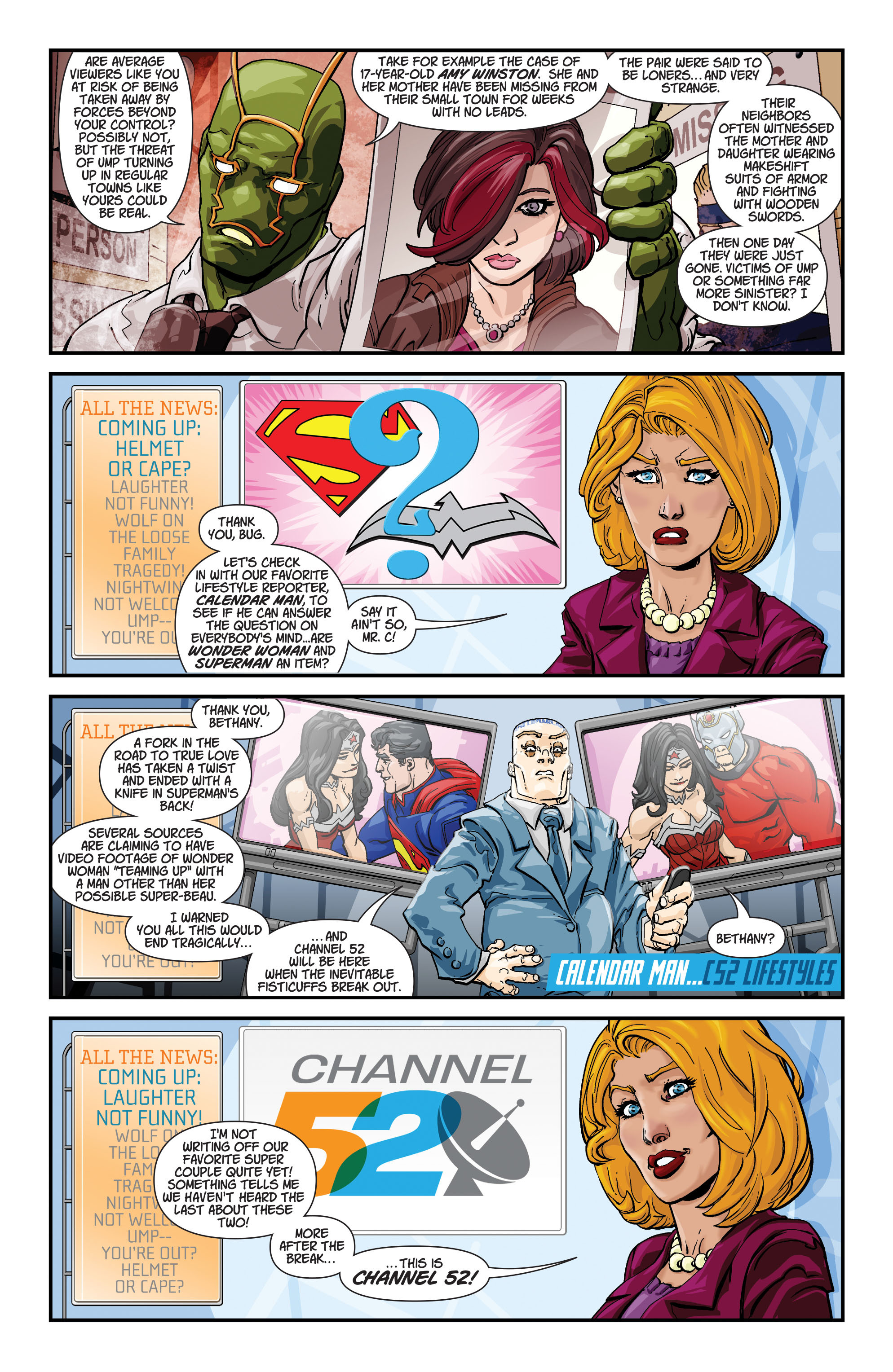 Read online Action Comics (2011) comic -  Issue #17 - 33