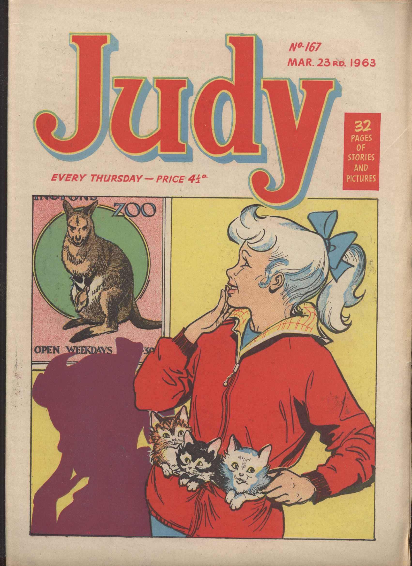 Read online Judy comic -  Issue #167 - 1