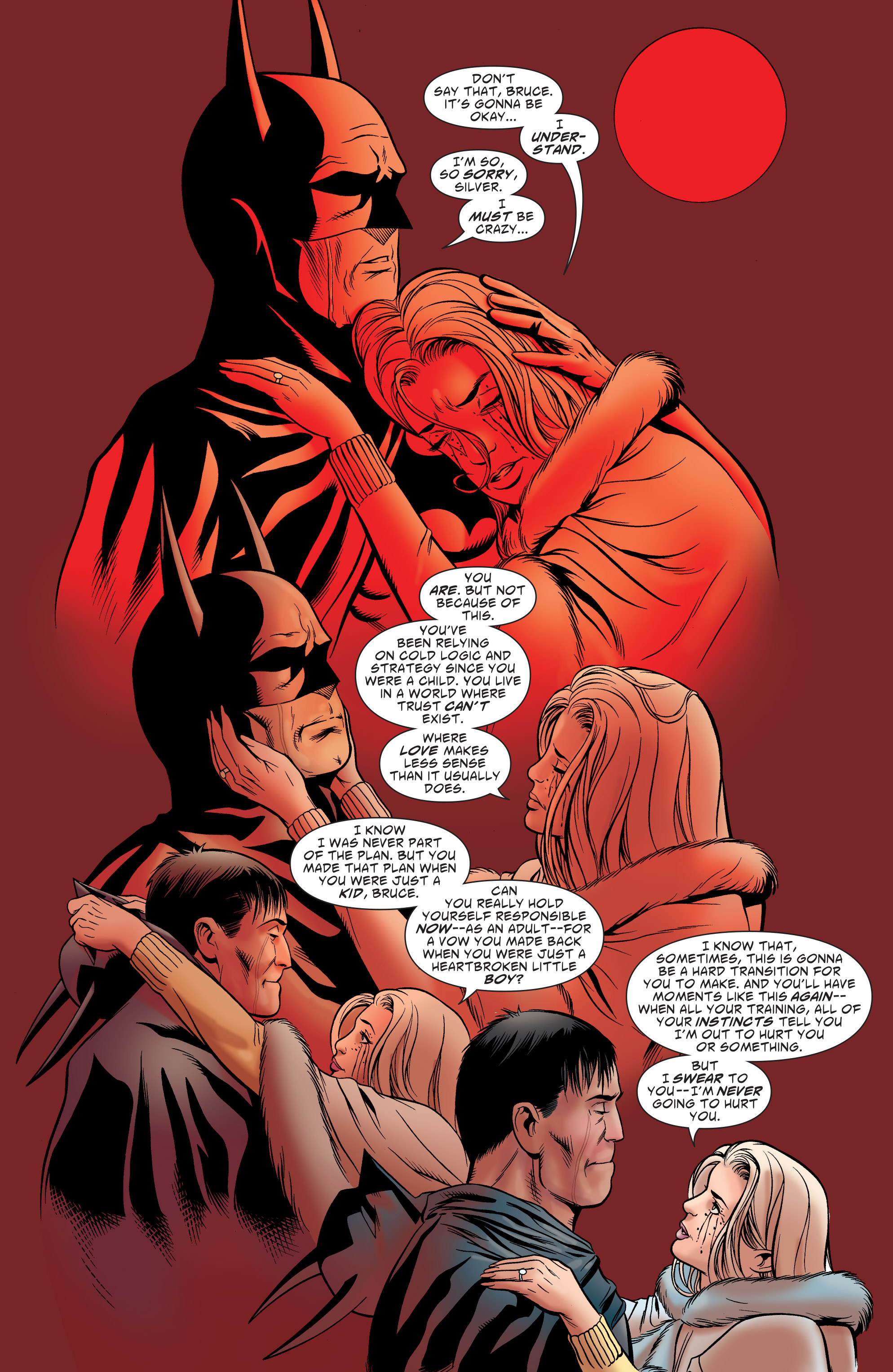 Read online Batman: The Widening Gyre comic -  Issue #6 - 20