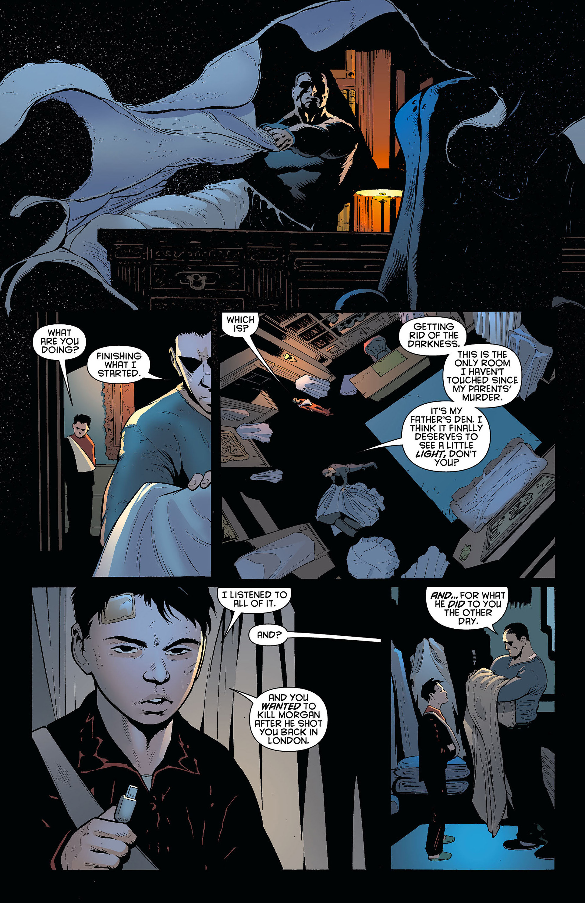 Read online Batman and Robin (2011) comic -  Issue #8 - 13