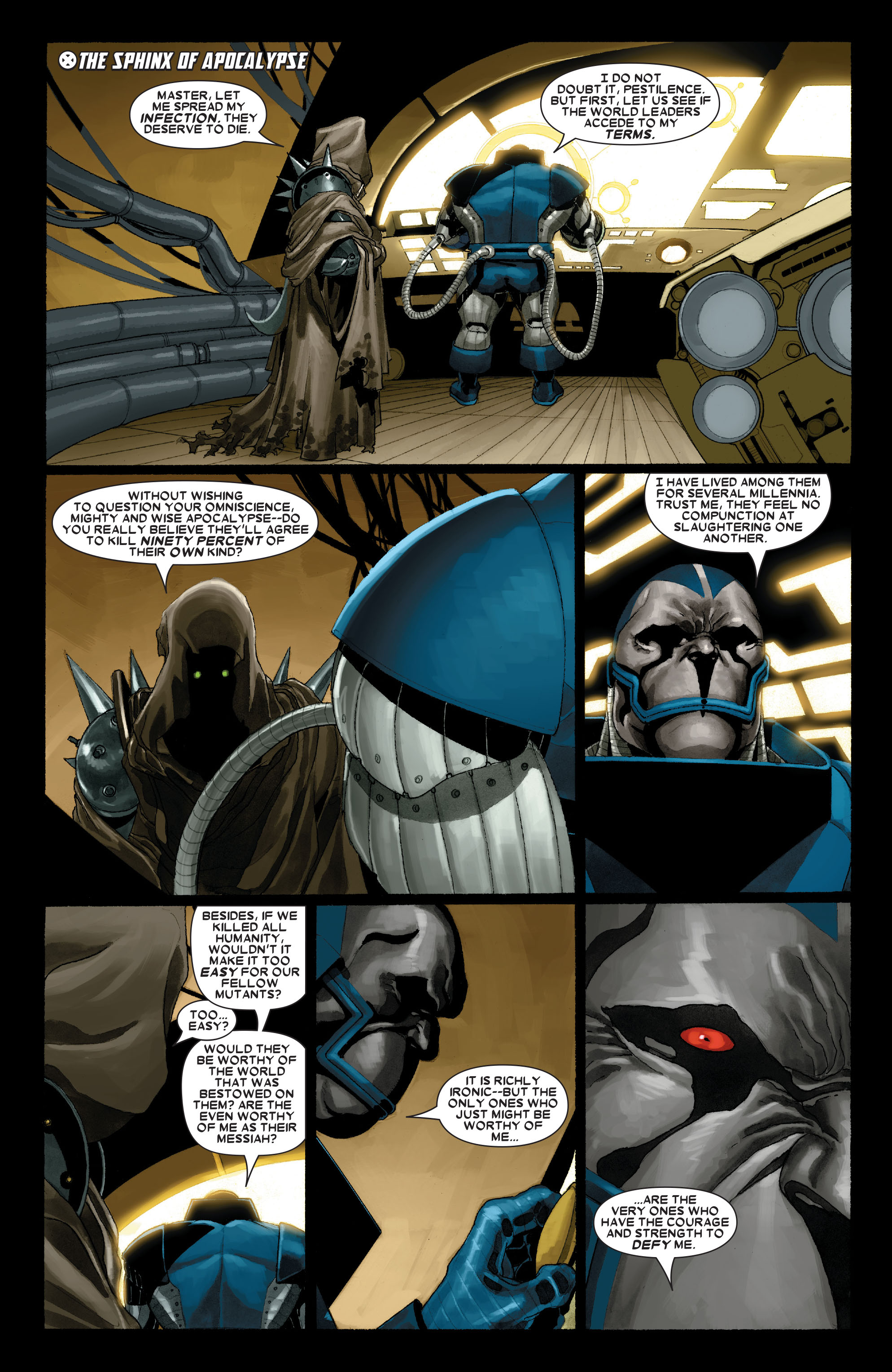 X-Men (1991) 186 Page 1