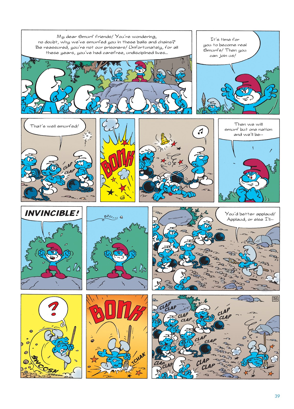Read online The Smurfs comic -  Issue #22 - 40