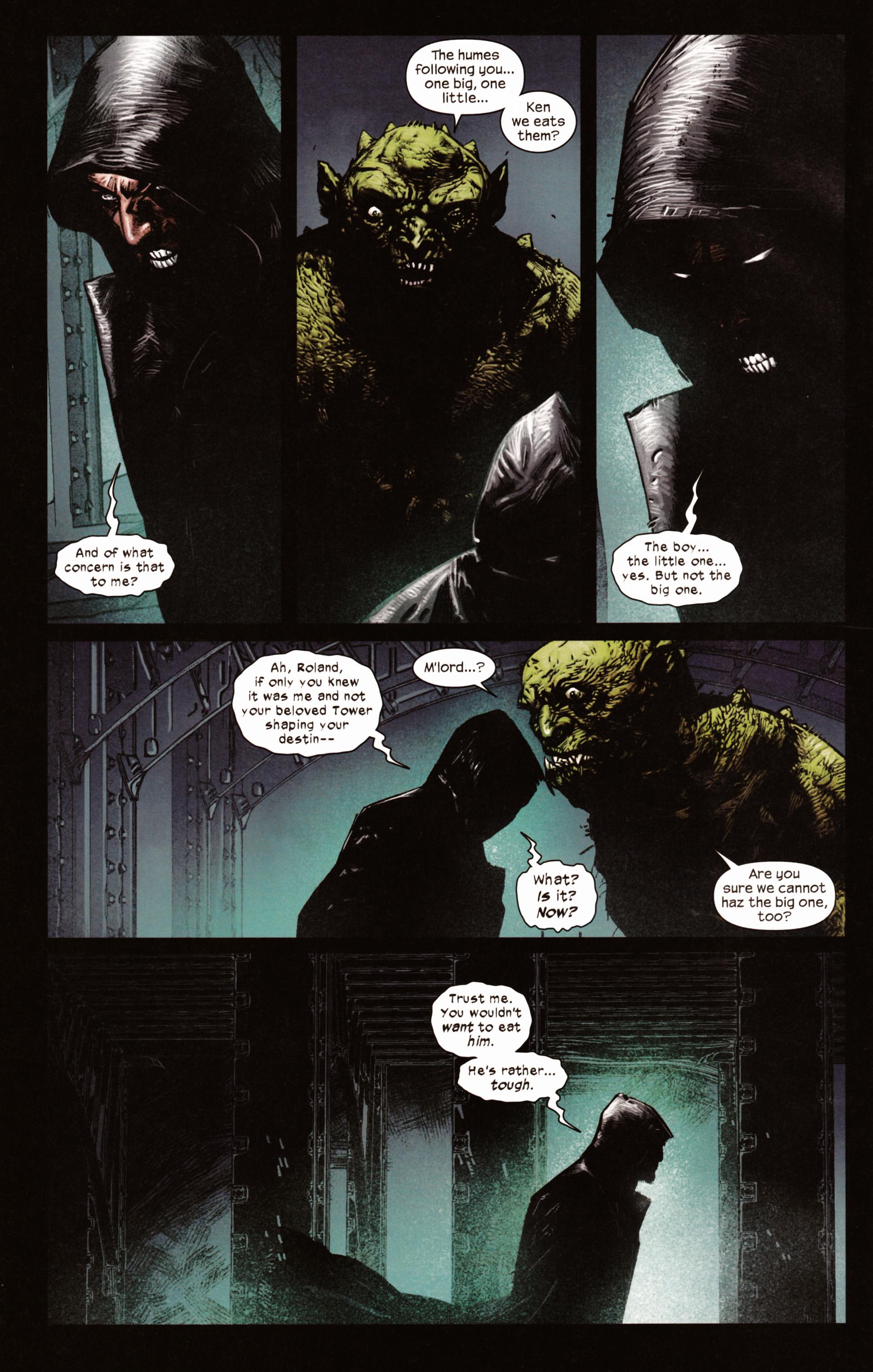 Read online Dark Tower: The Gunslinger - The Man in Black comic -  Issue #2 - 7