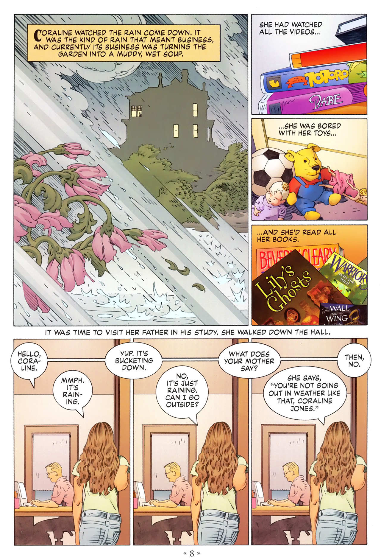 Read online Coraline comic -  Issue #1 - 14