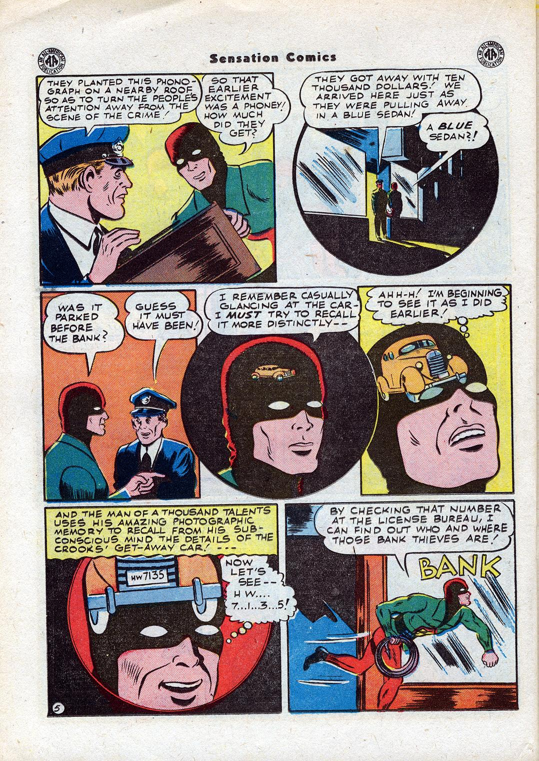 Read online Sensation (Mystery) Comics comic -  Issue #44 - 32