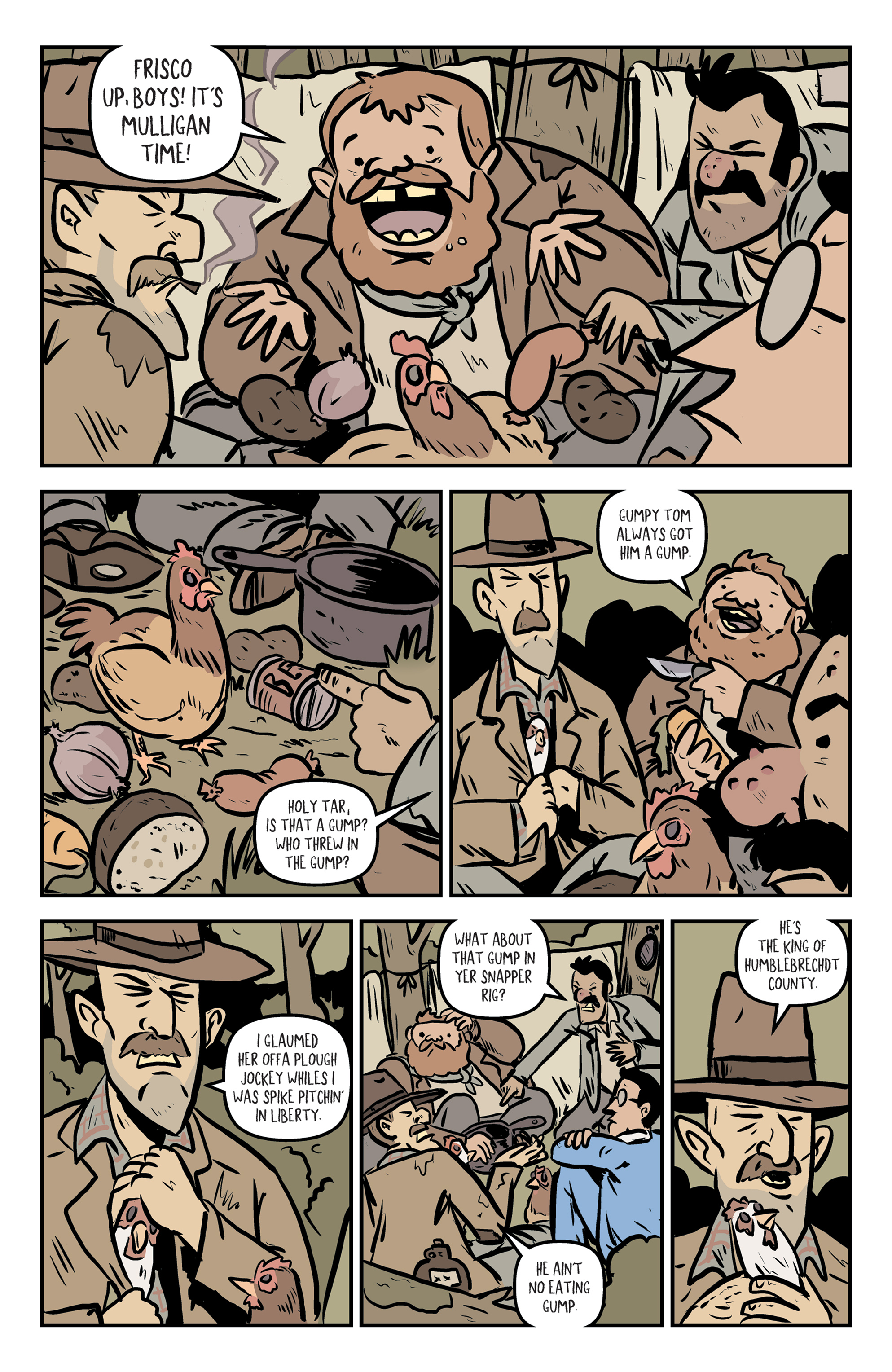 Read online Rock Candy Mountain comic -  Issue #2 - 5