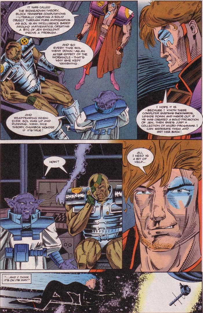 Read online Cyberspace 3000 comic -  Issue #5 - 9