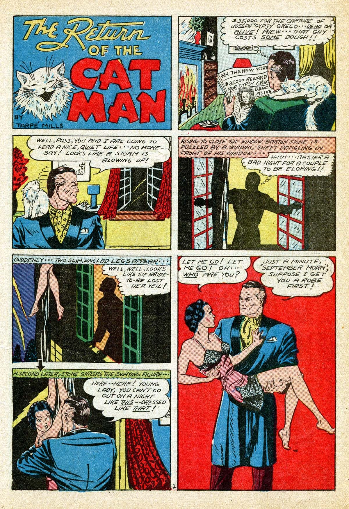 Read online Amazing Man Comics comic -  Issue #8 - 13