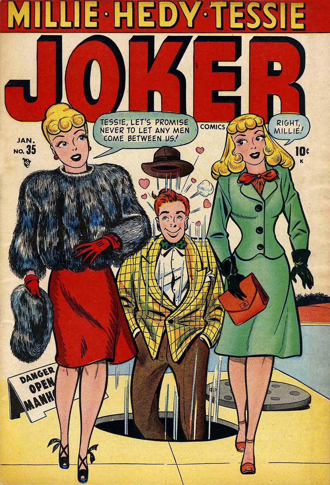 Read online Joker Comics comic -  Issue #35 - 1