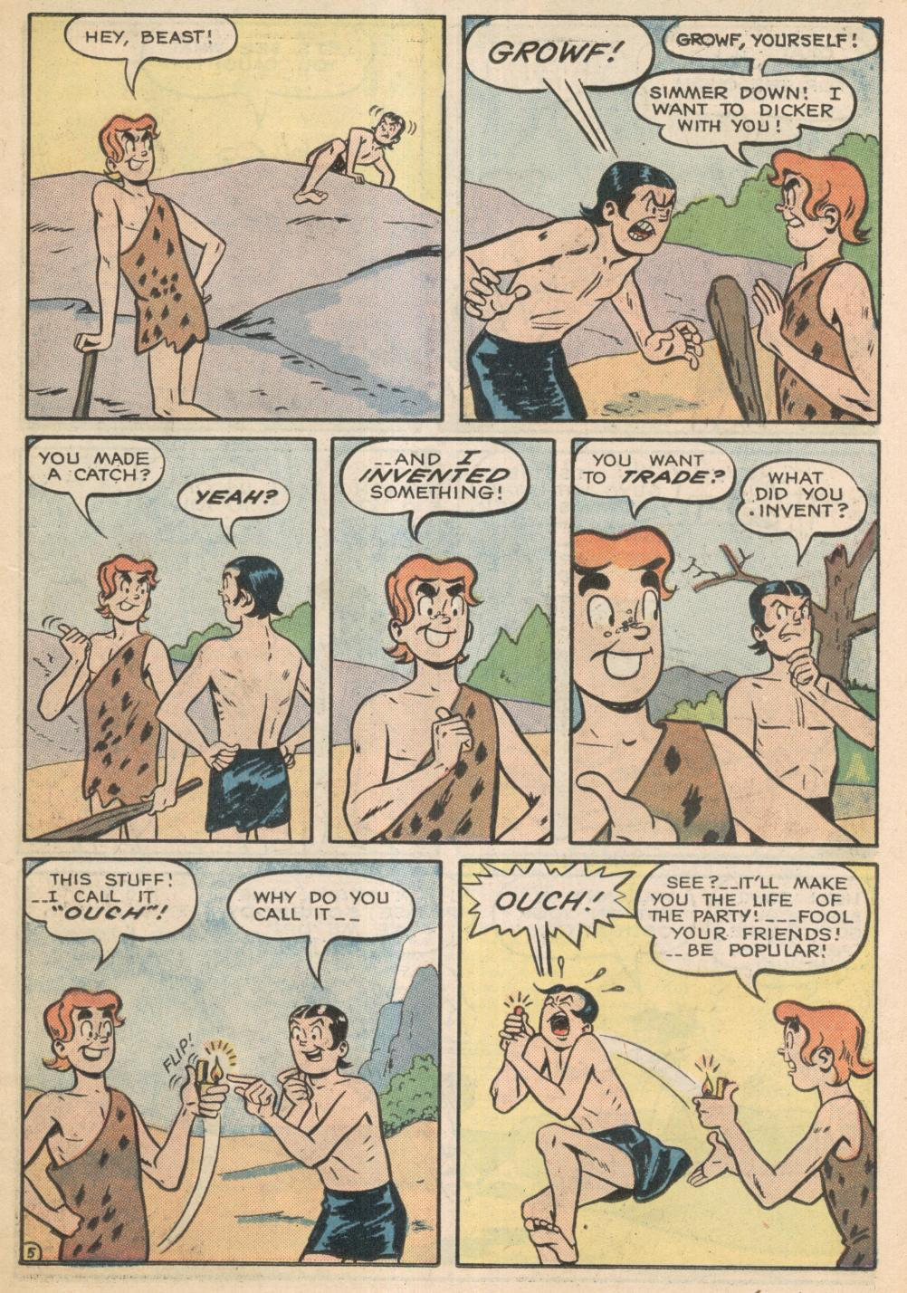 Read online Archie (1960) comic -  Issue #137 - 7
