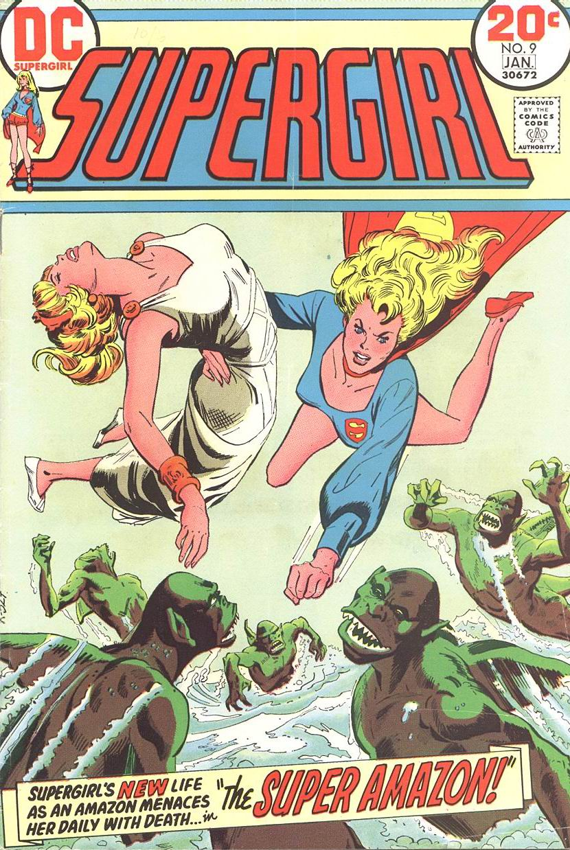 Supergirl (1972) 9 Page 1