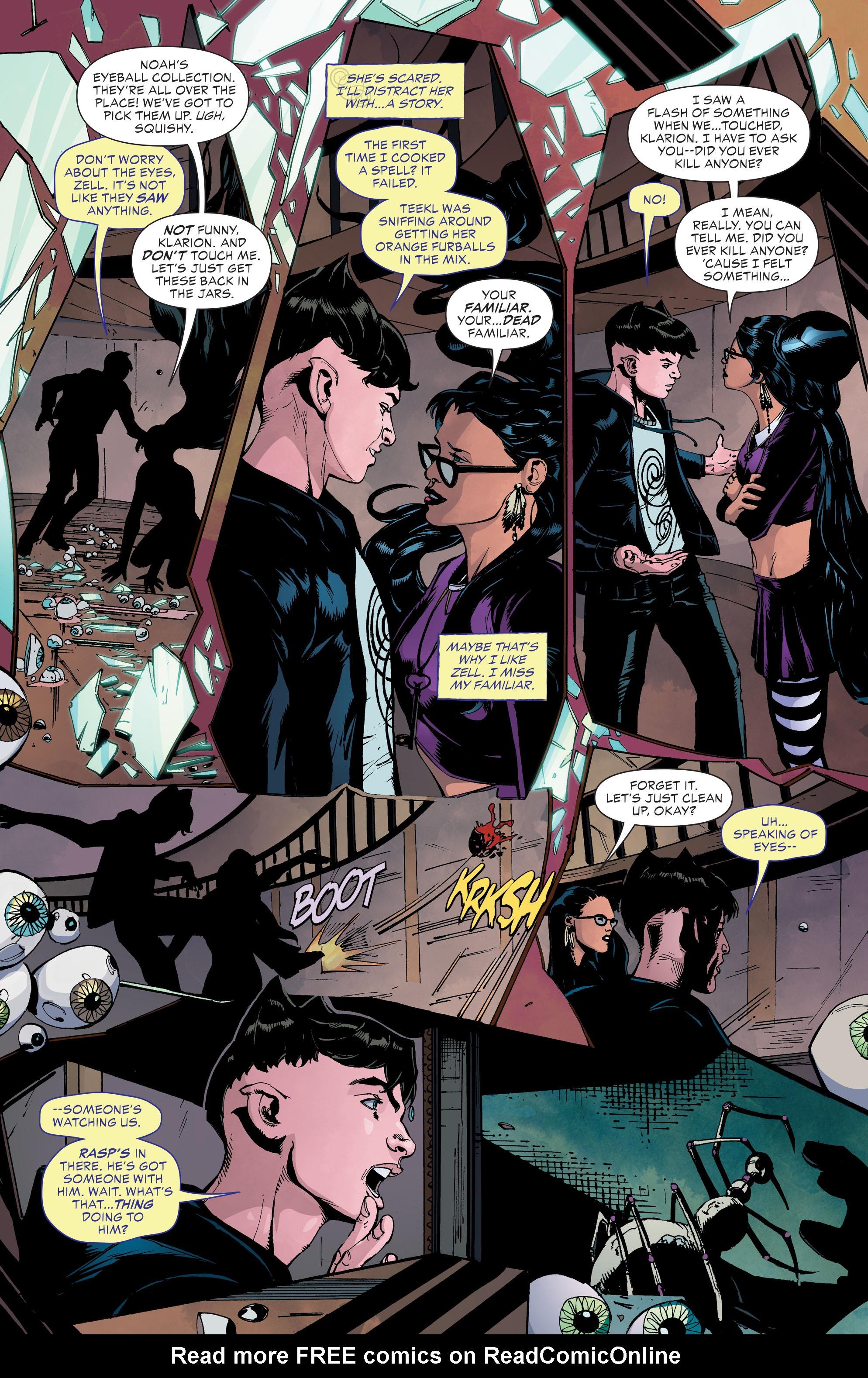 Read online Klarion comic -  Issue #3 - 3
