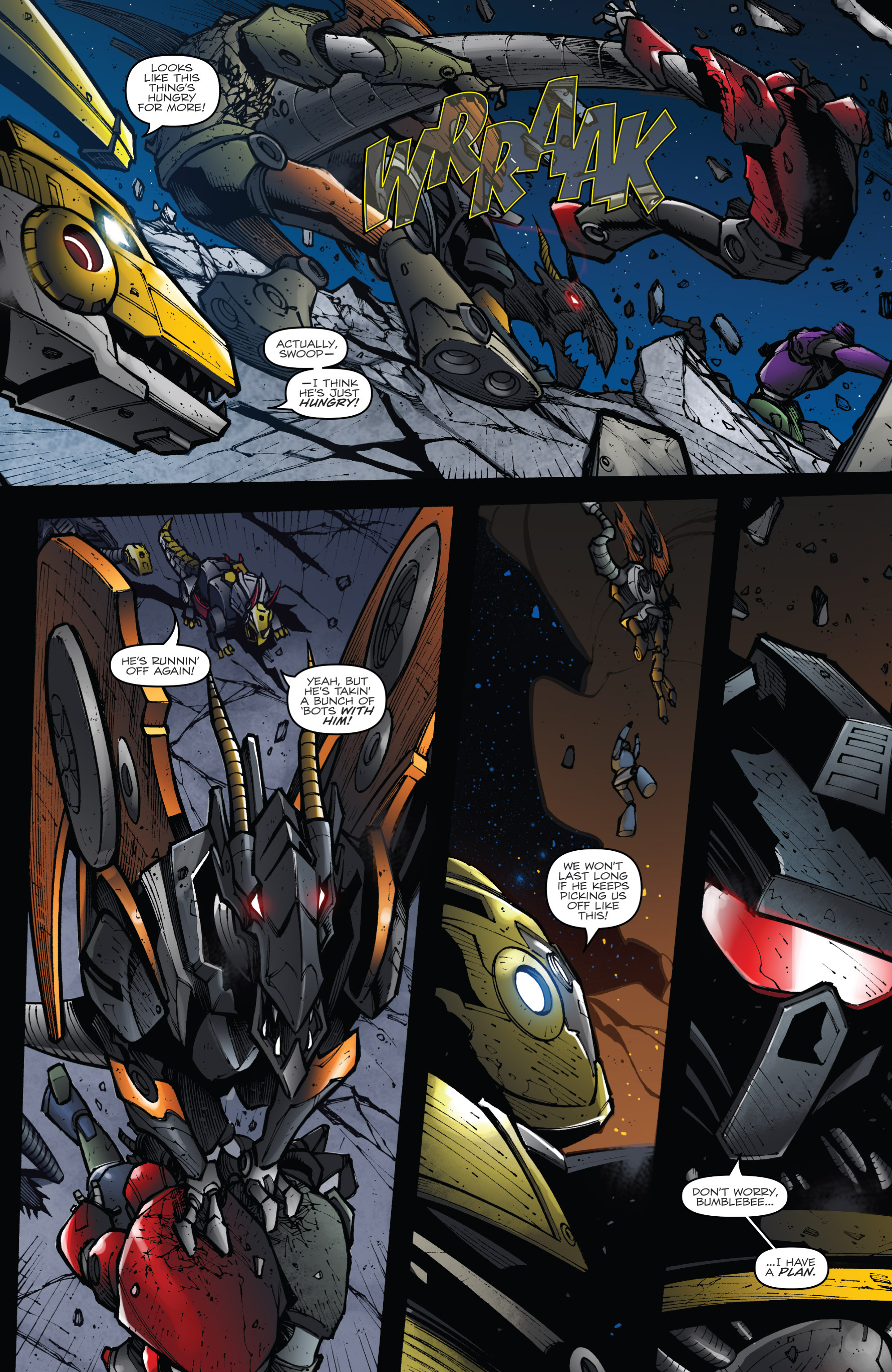 Read online Transformers Prime: Beast Hunters comic -  Issue #8 - 10