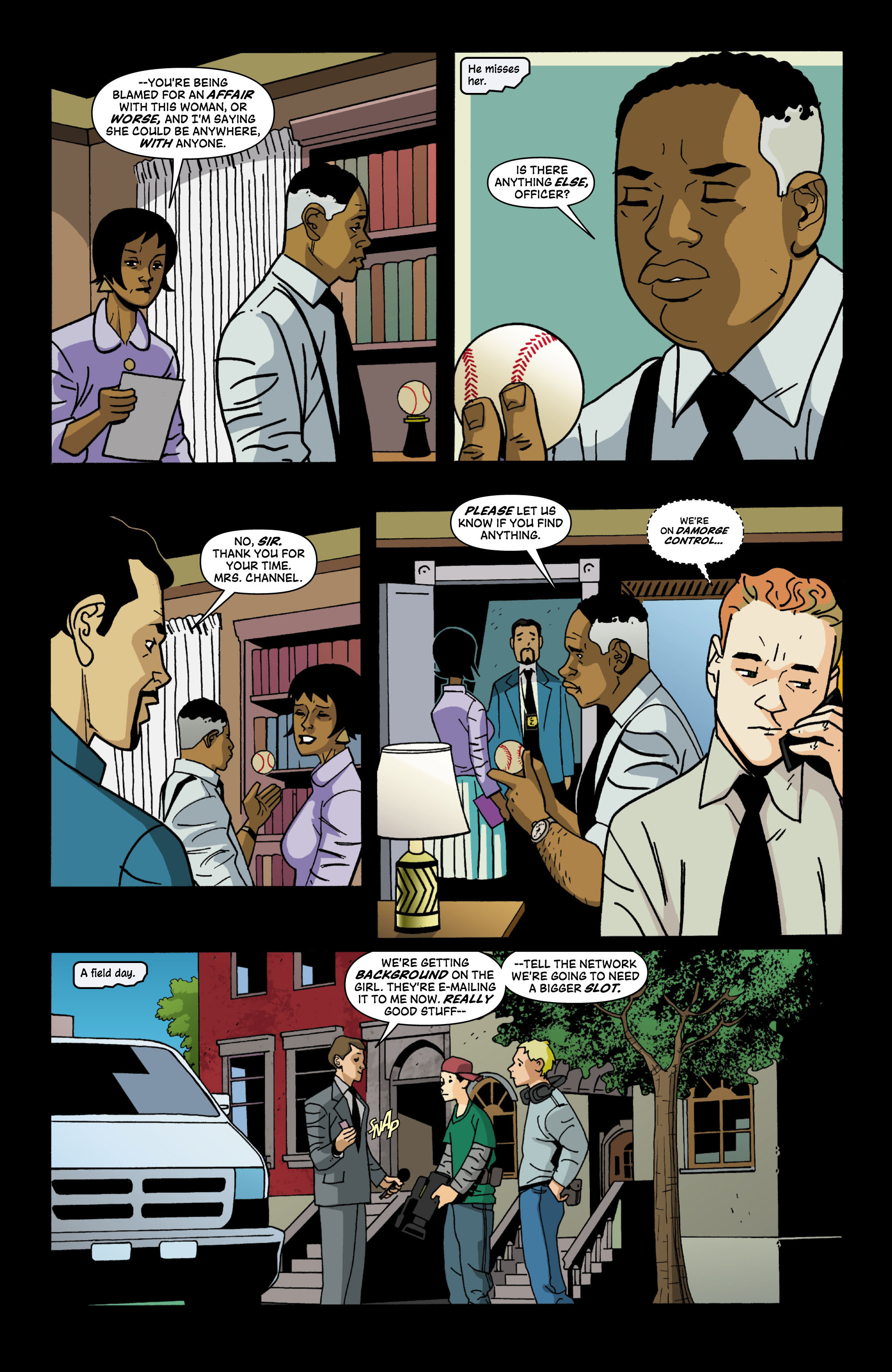 Read online Red Herring comic -  Issue #4 - 9