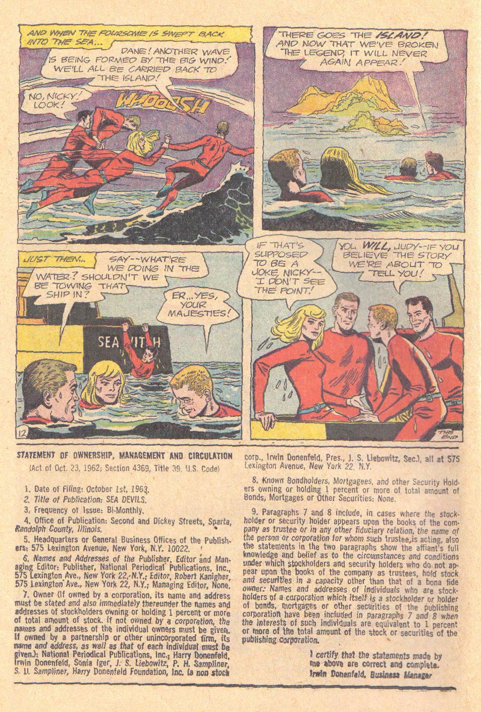 Read online Sea Devils comic -  Issue #16 - 14