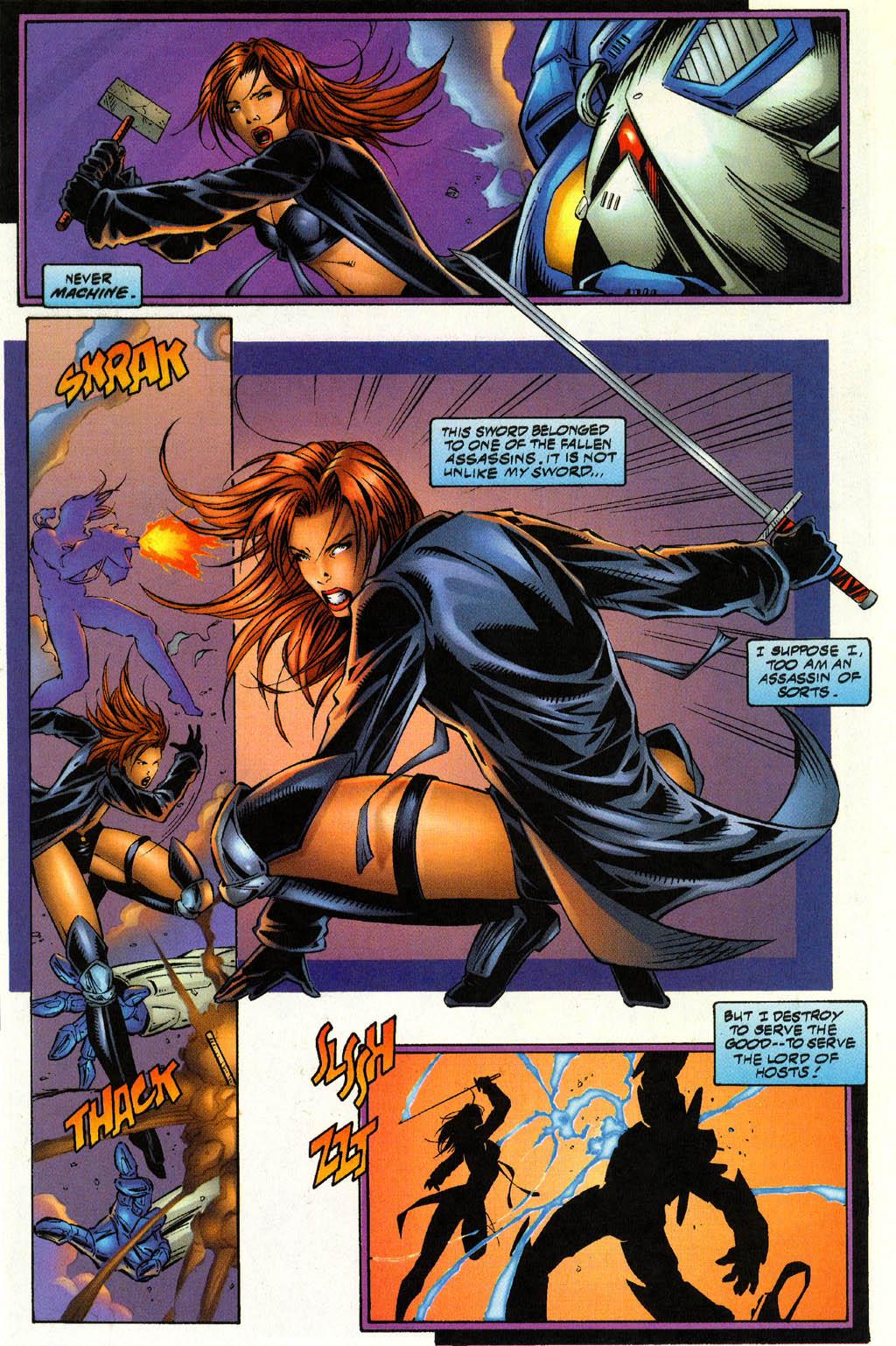 Read online Avengelyne (1996) comic -  Issue #4 - 18