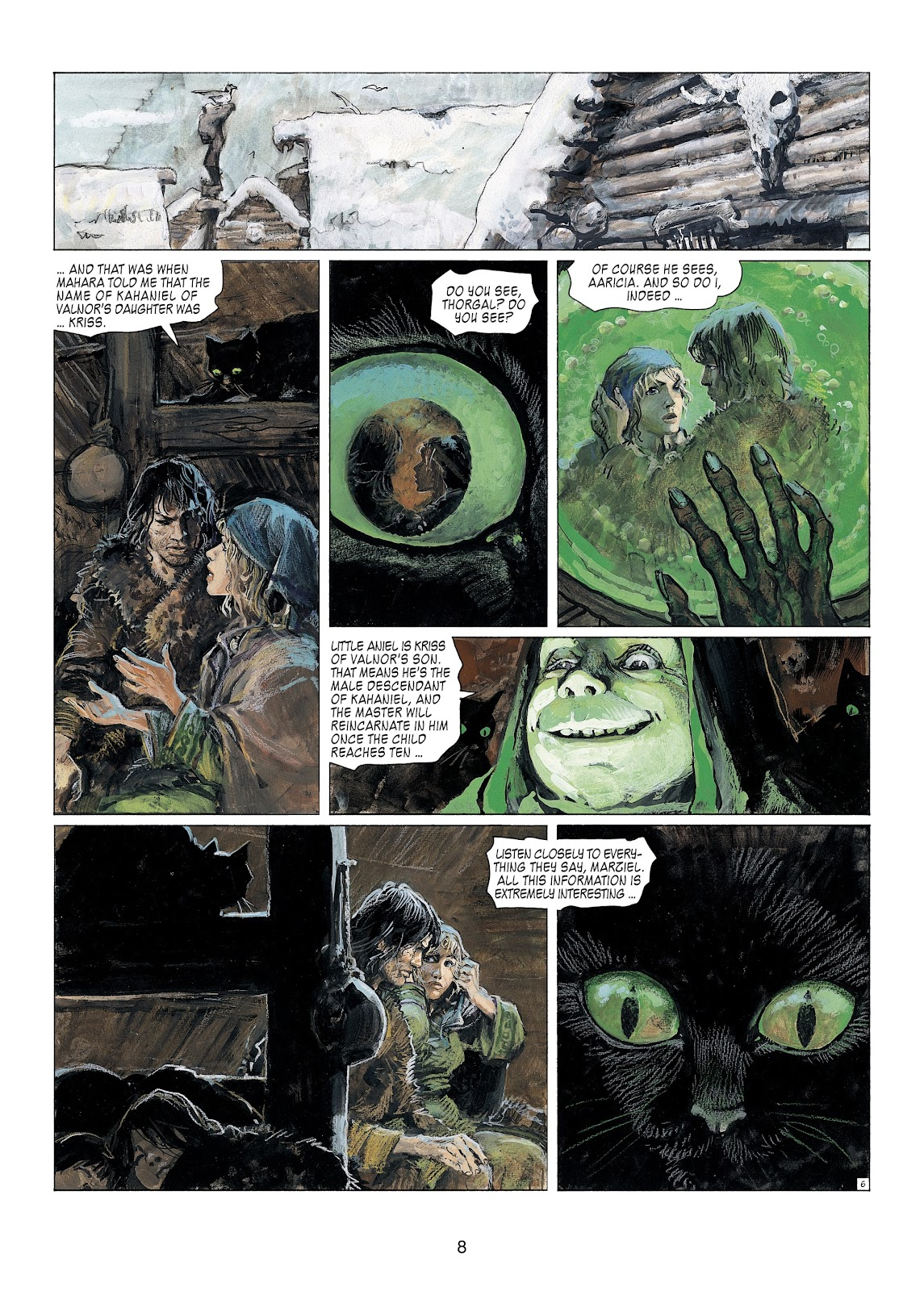 Read online Thorgal comic -  Issue #23 - 10
