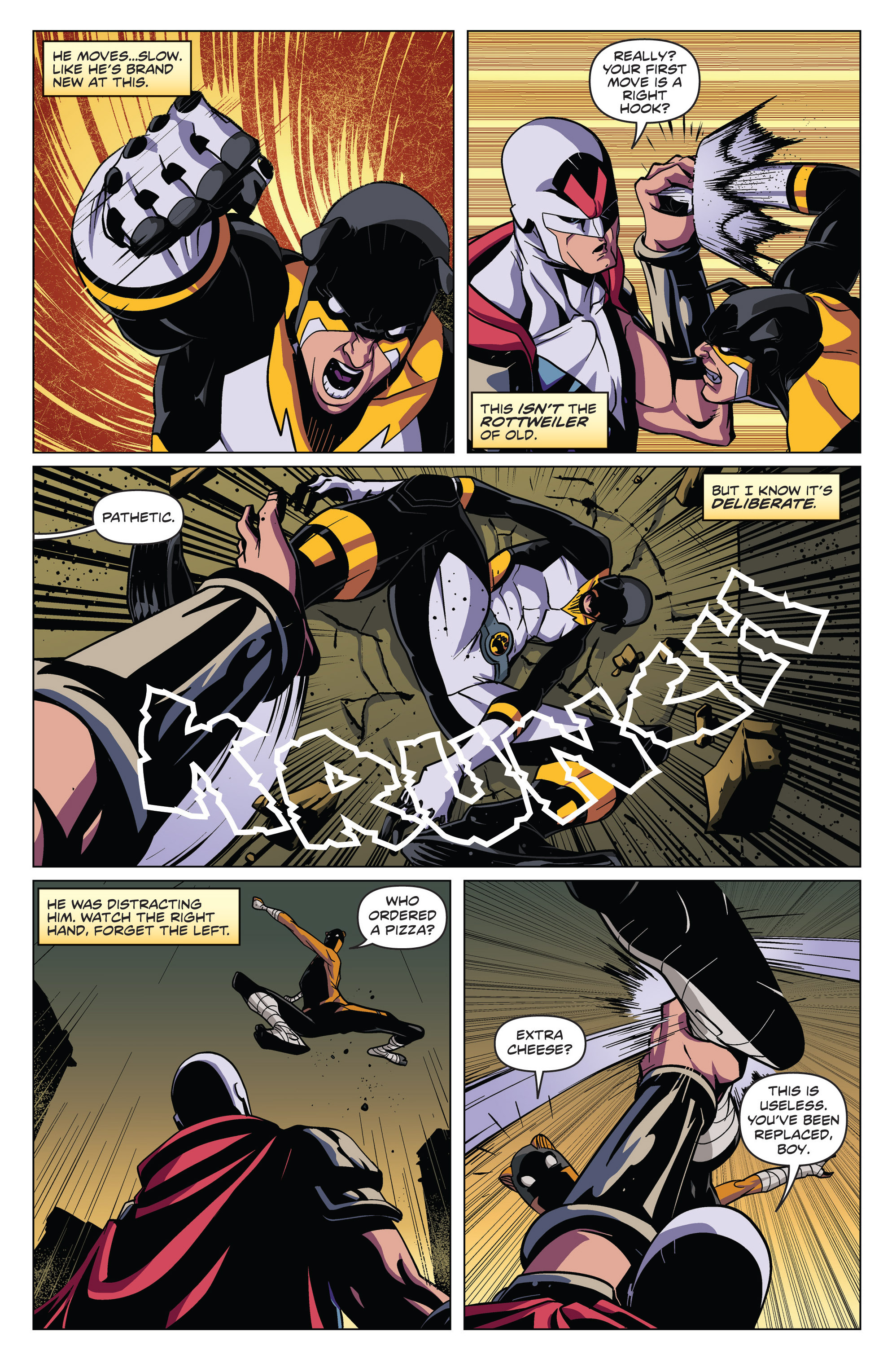 Read online Actionverse comic -  Issue #4 - 6