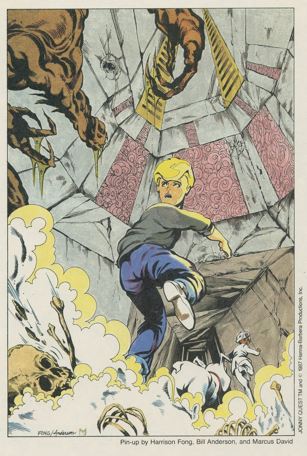 Jonny Quest (1986) issue 17 - Page 33