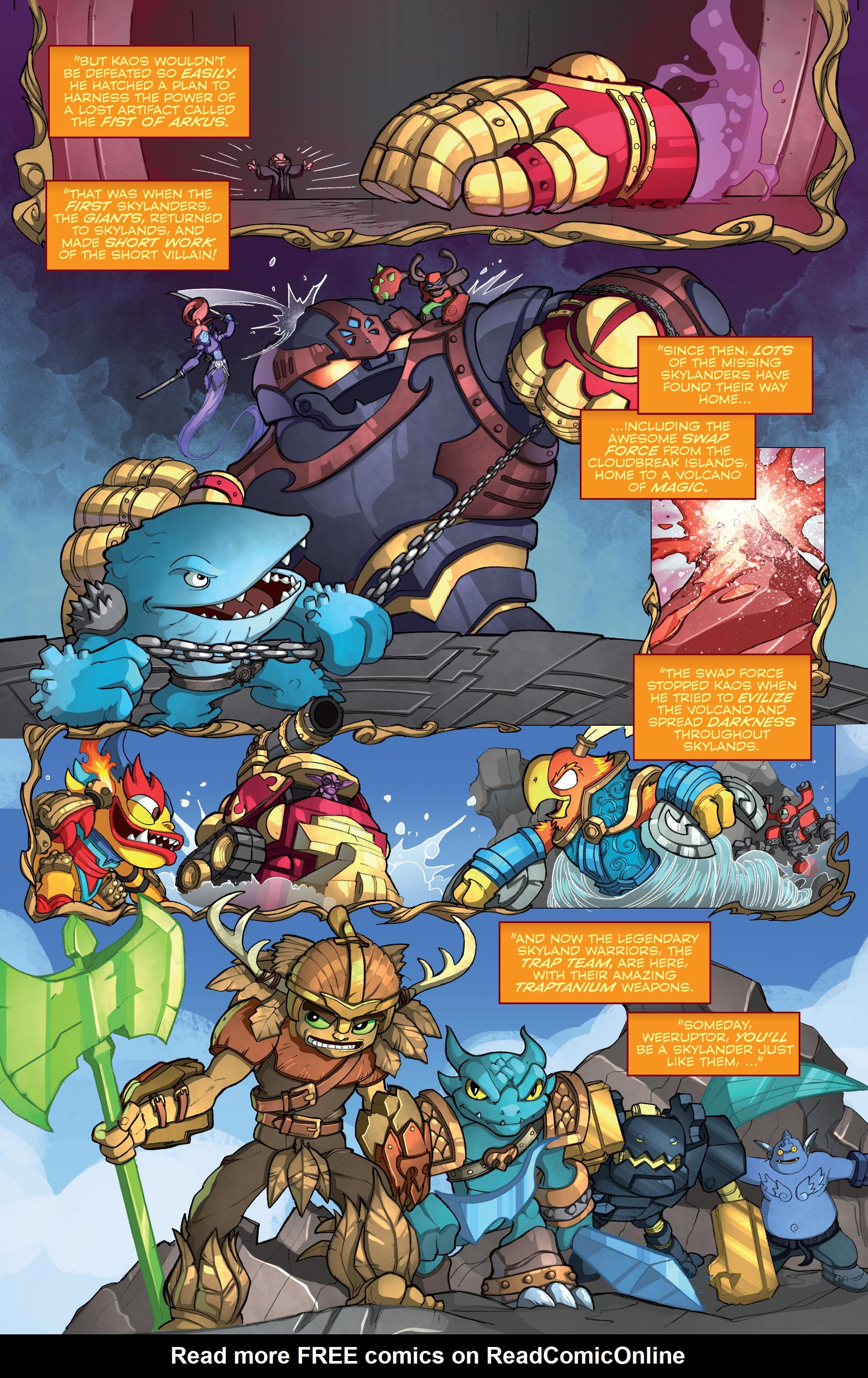 Read online Skylanders comic -  Issue #2 - 12