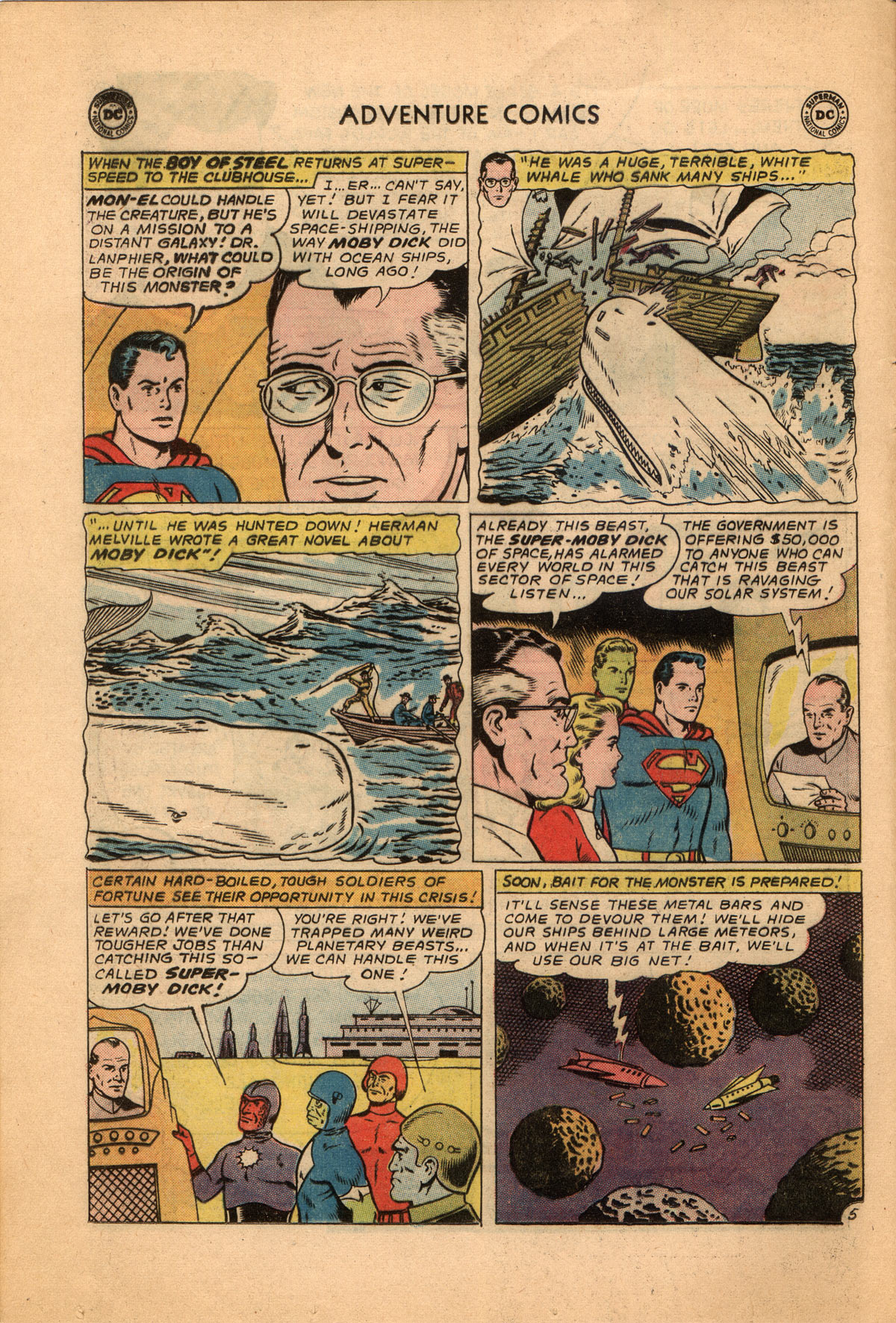 Read online Adventure Comics (1938) comic -  Issue #332 - 8