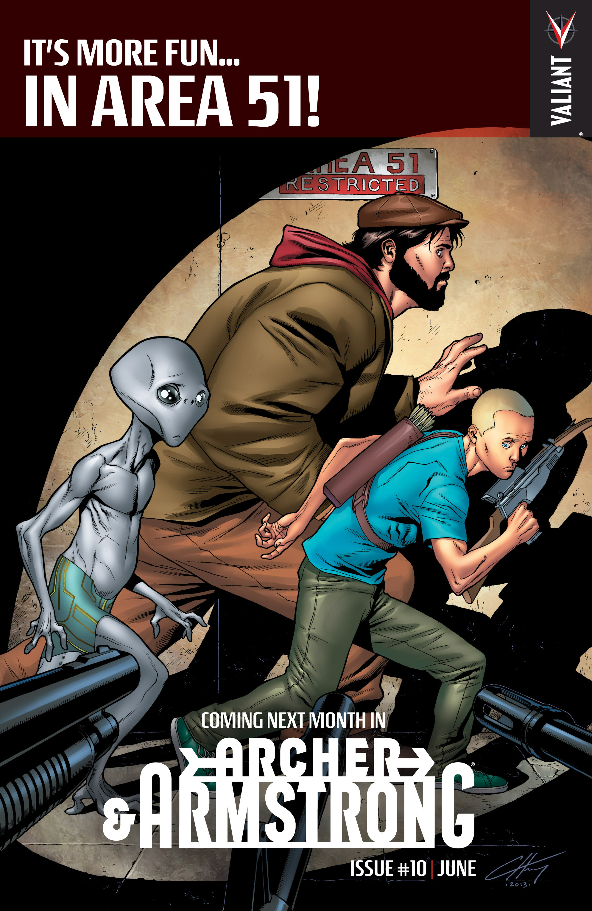 Read online Archer and Armstrong comic -  Issue #0 - 22