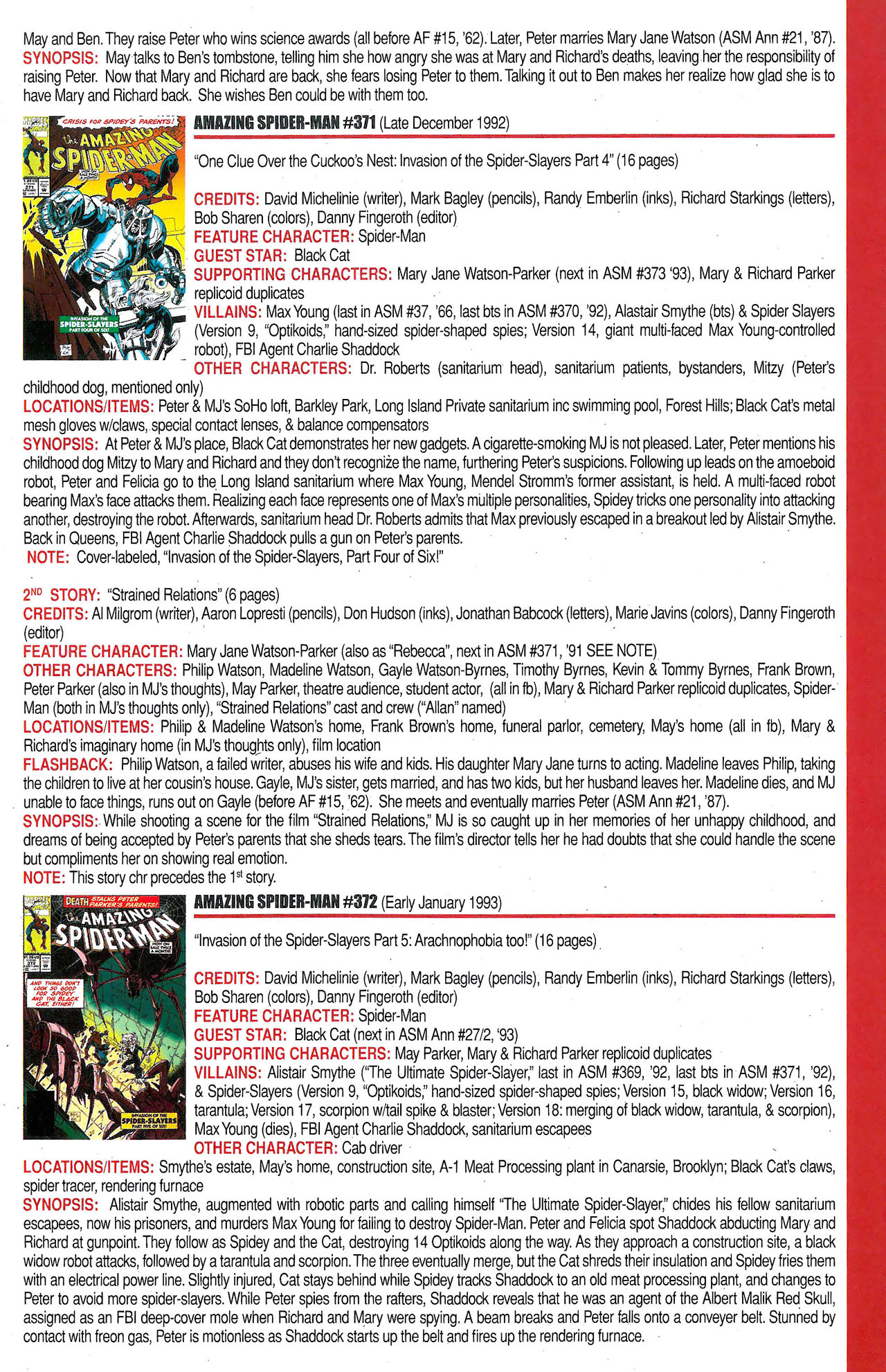 Read online Official Index to the Marvel Universe comic -  Issue #9 - 5