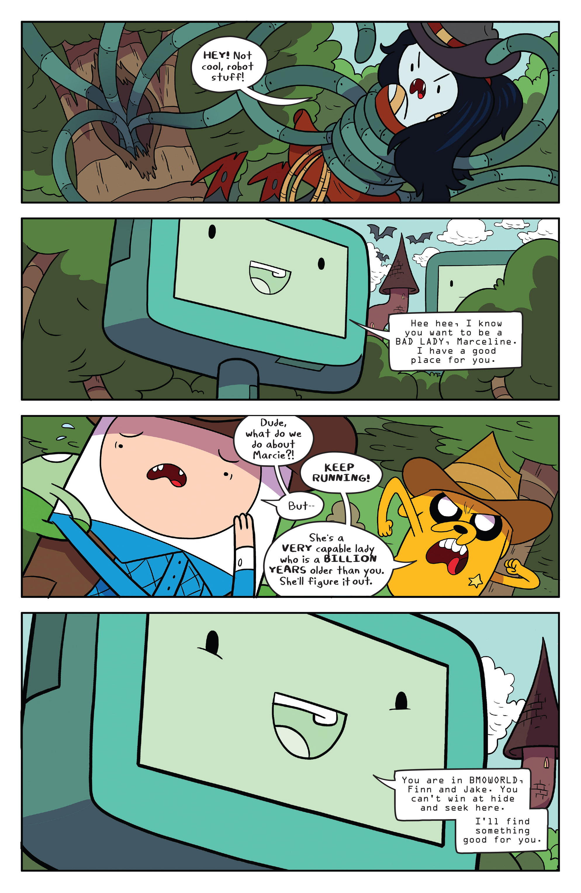 Read online Adventure Time comic -  Issue #55 - 5
