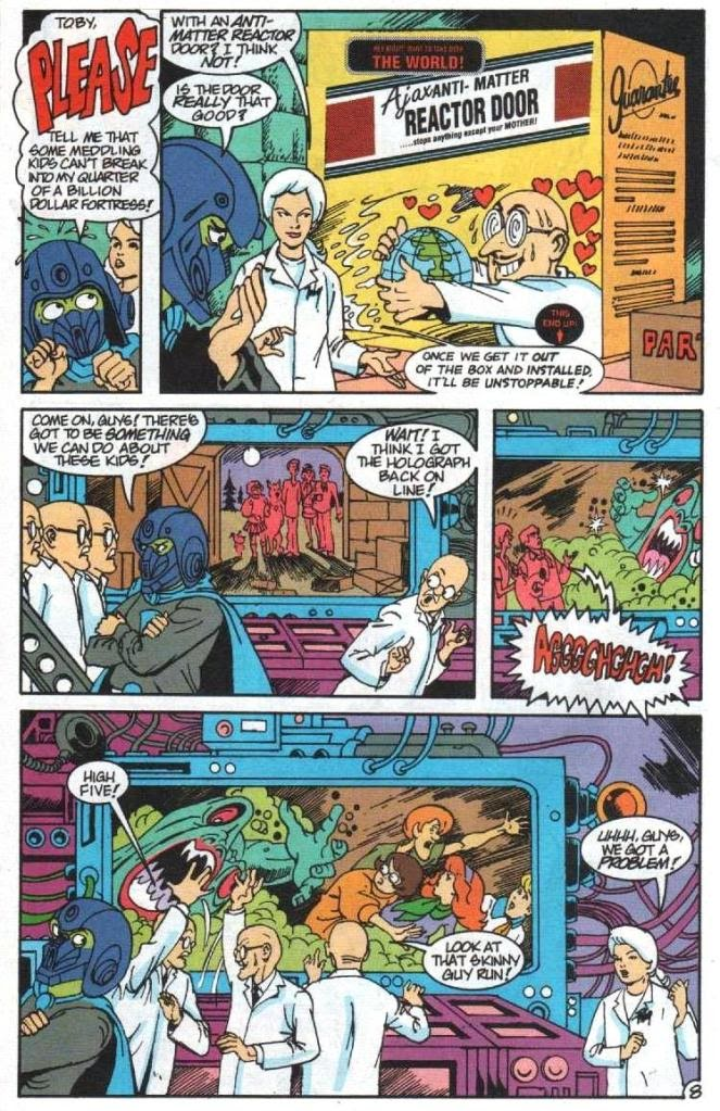 Read online Scooby-Doo (1995) comic -  Issue #5 - 9