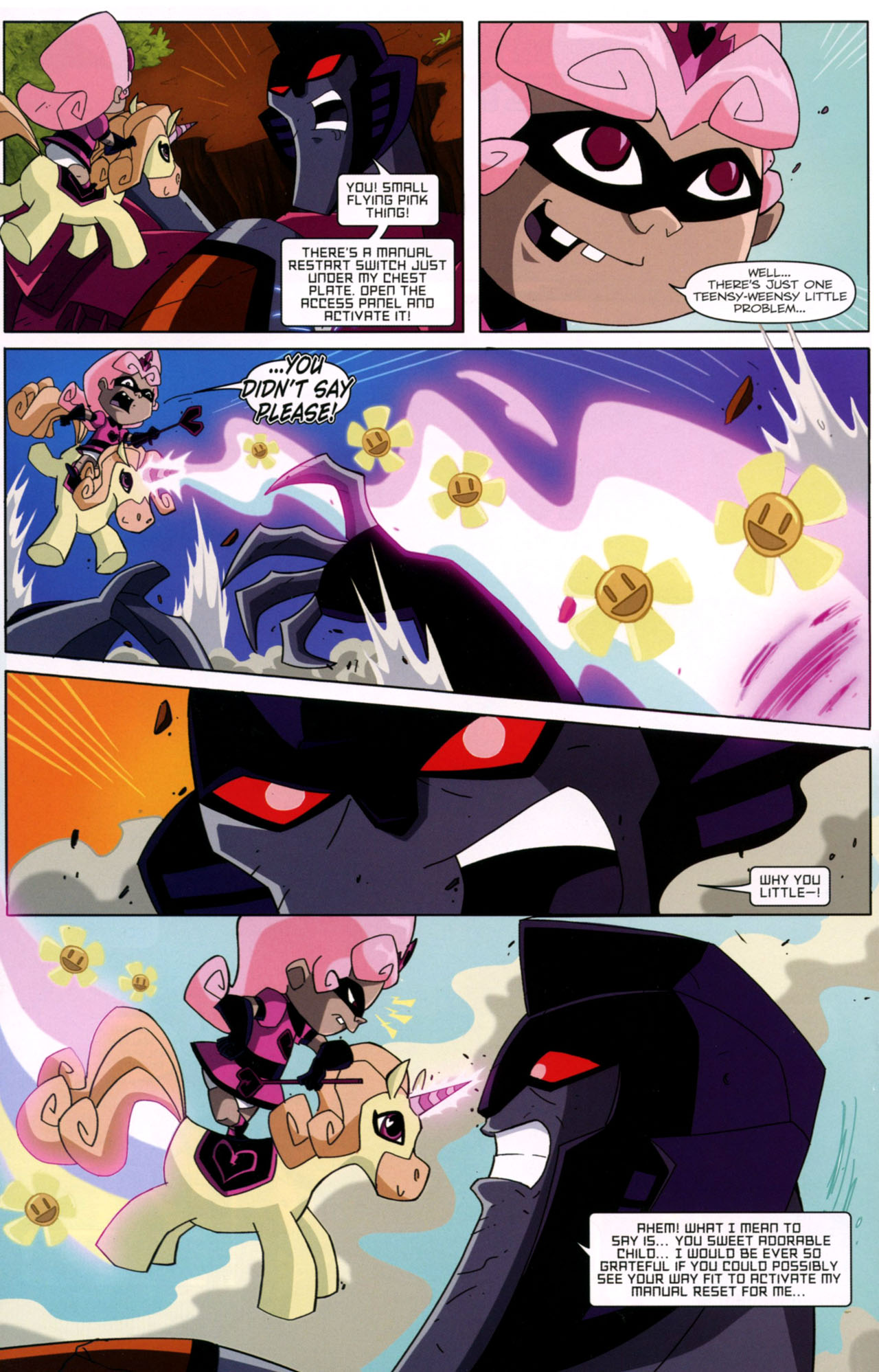 Read online Transformers Animated: The Arrival comic -  Issue #2 - 23