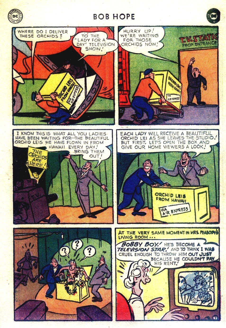 The Adventures of Bob Hope issue 27 - Page 31
