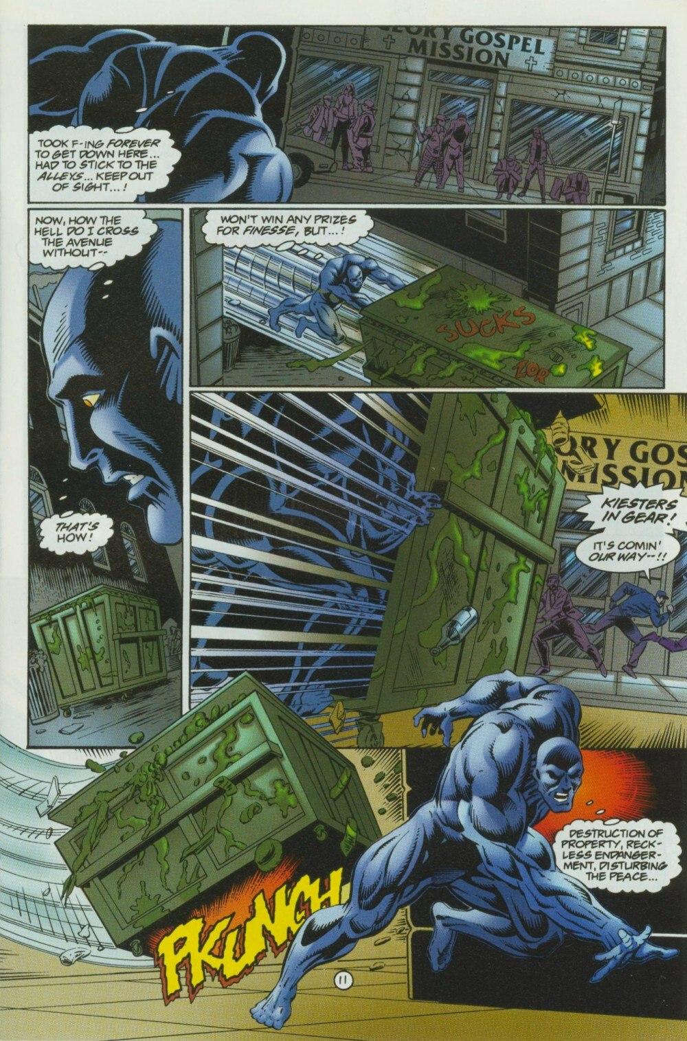 Read online Sludge comic -  Issue #10 - 14