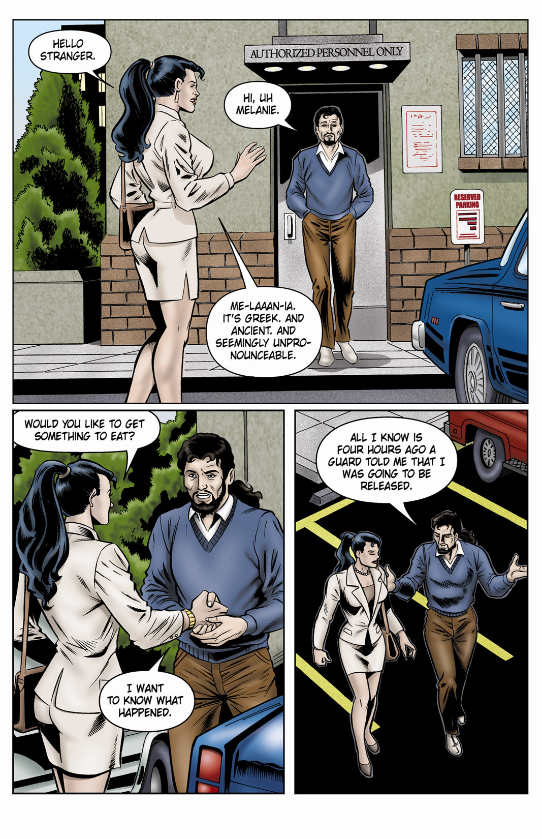 Read online SideChicks comic -  Issue #4 - 35