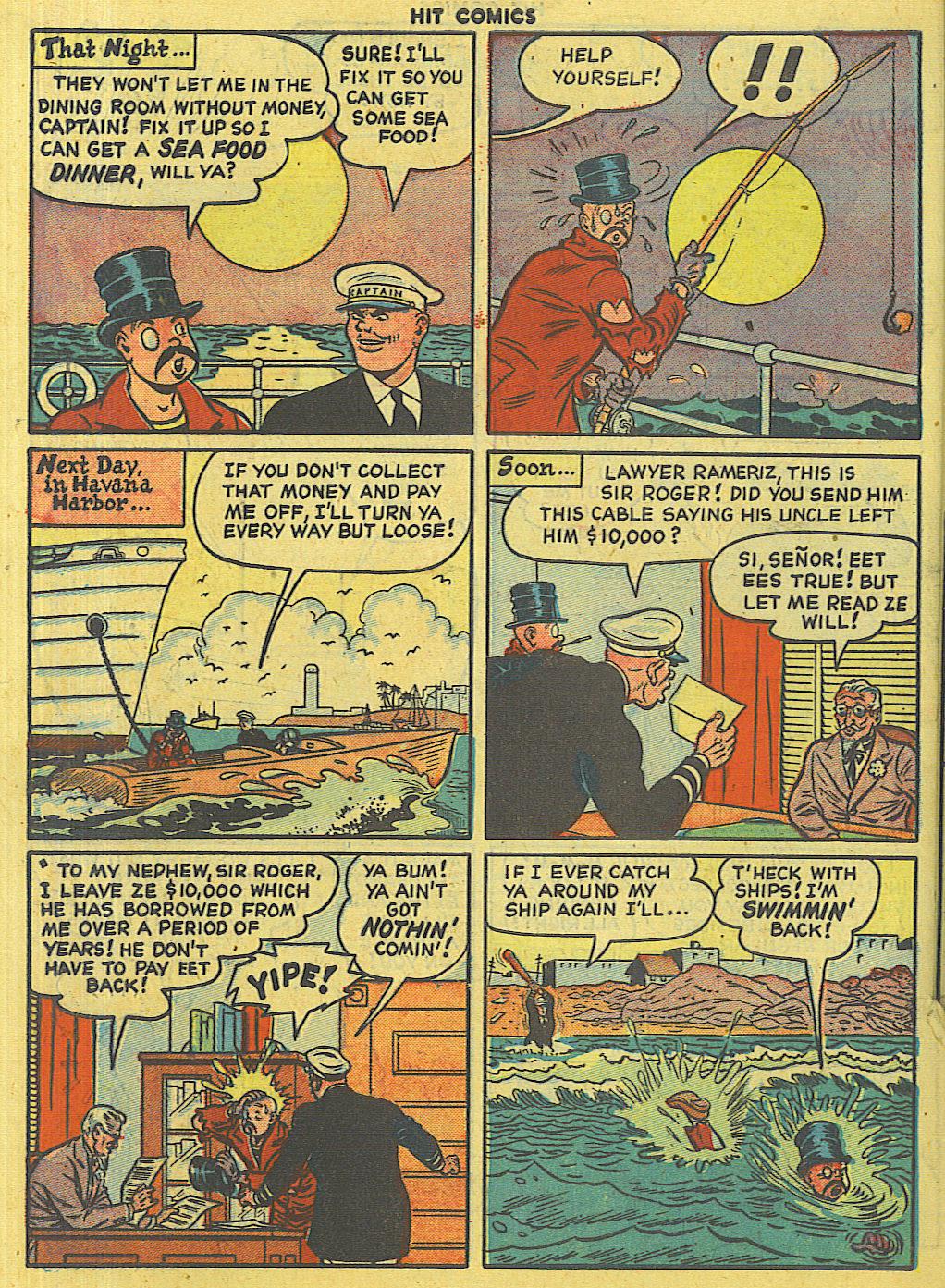 Read online Hit Comics comic -  Issue #56 - 42