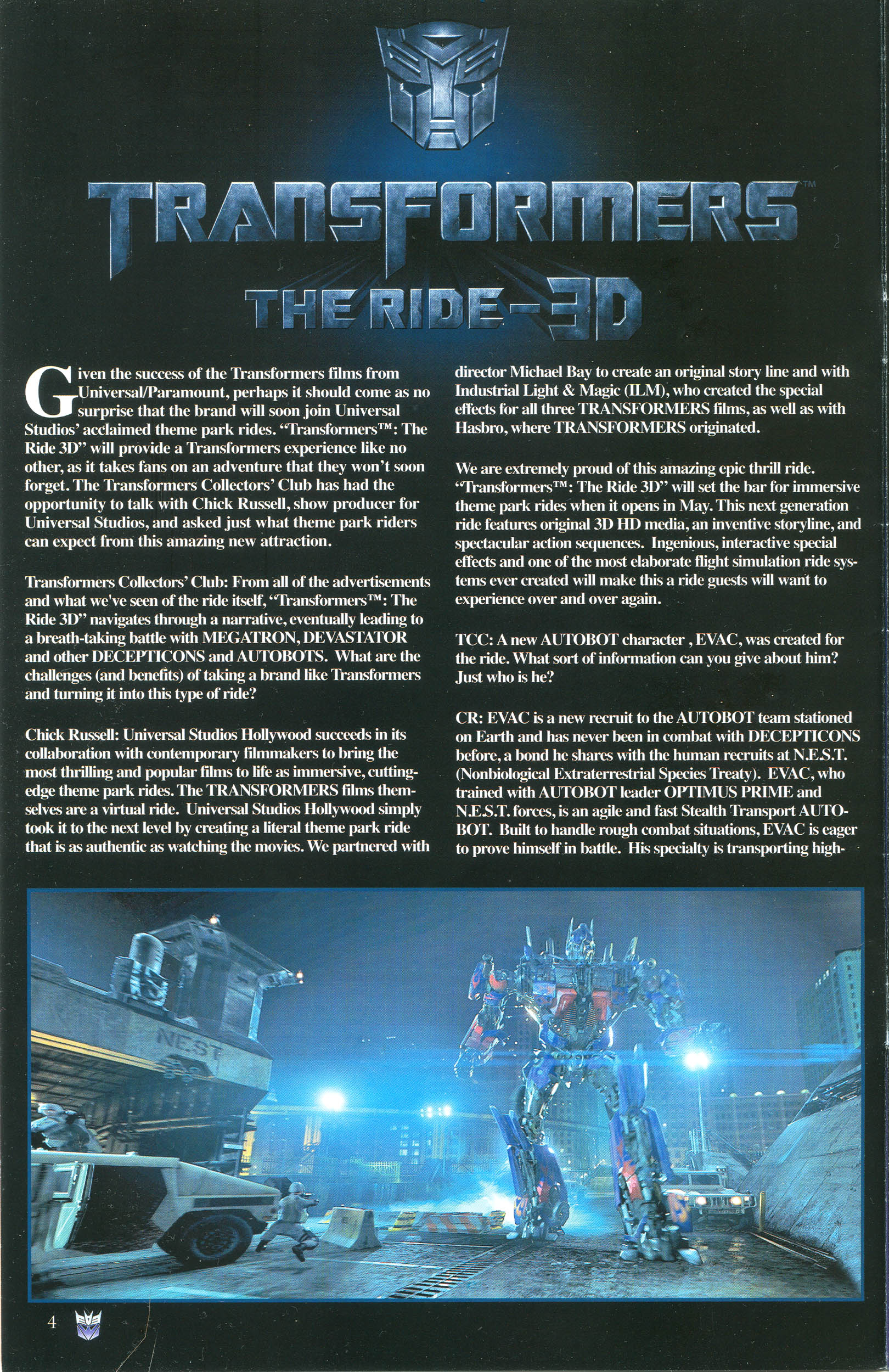 Read online Transformers: Collectors' Club comic -  Issue #44 - 4