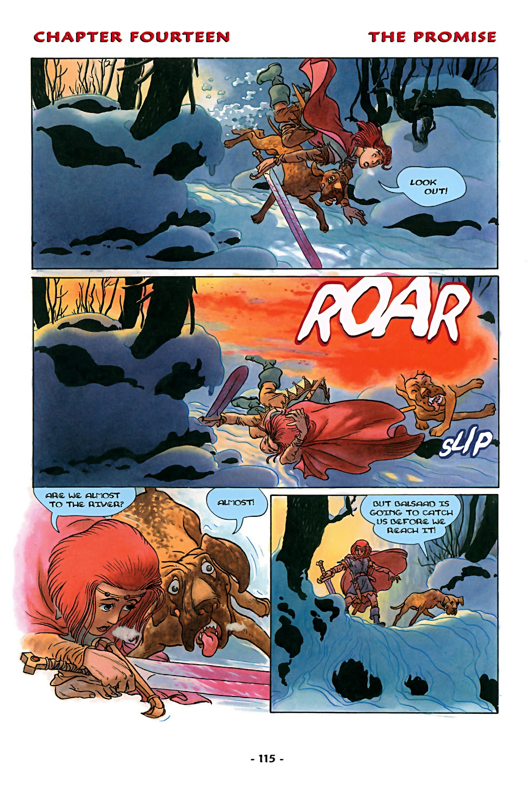 Read online Rose (2000) comic -  Issue # TPB - 120
