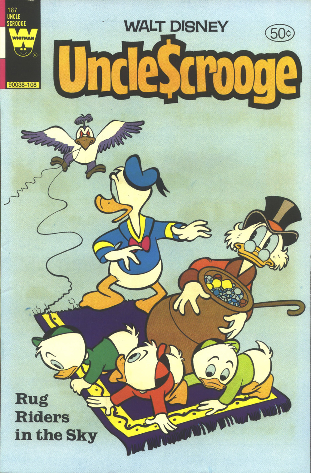 Read online Uncle Scrooge (1953) comic -  Issue #187 - 1